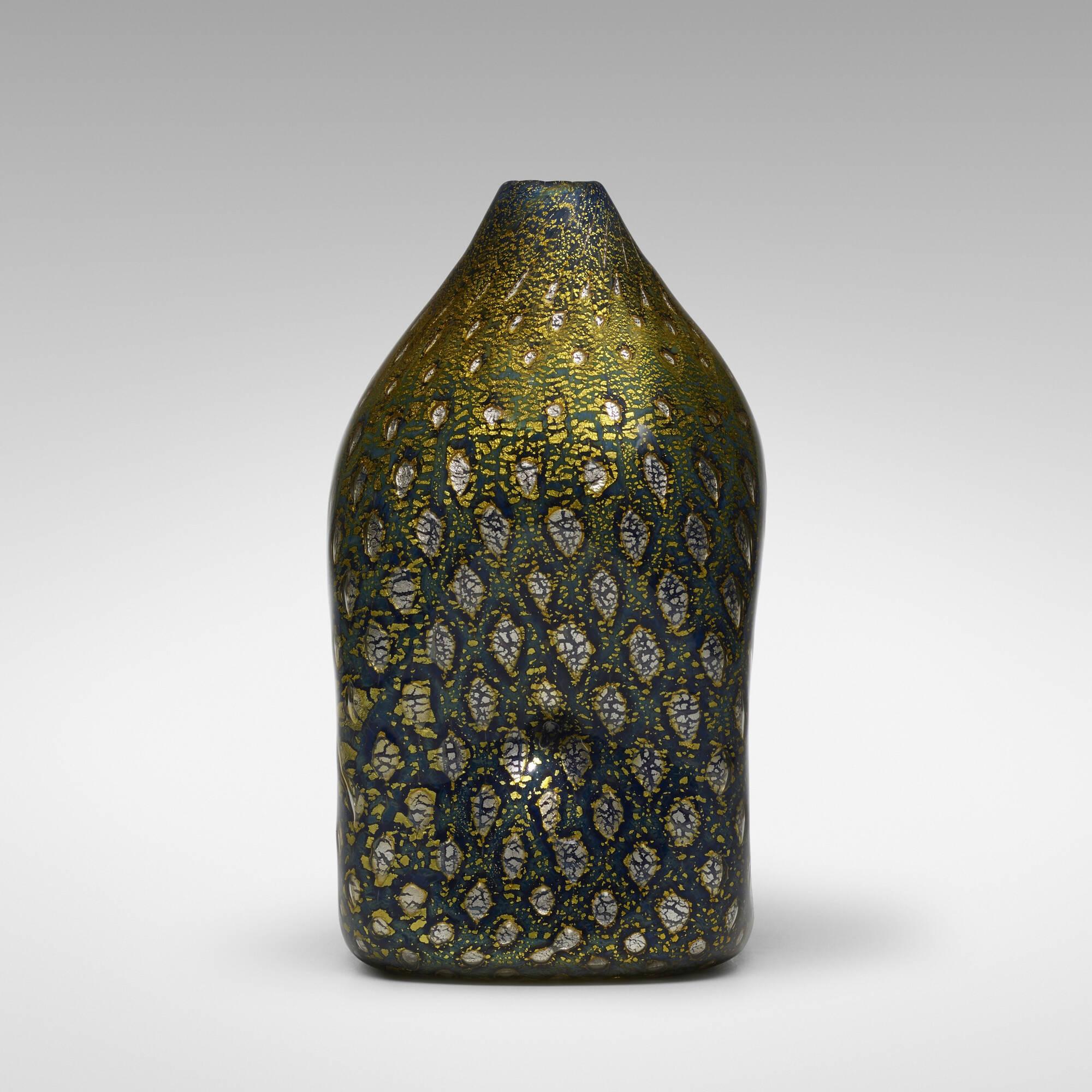 187: Giulio Radi / A Reazione Polichrome vase (2 of 3)
