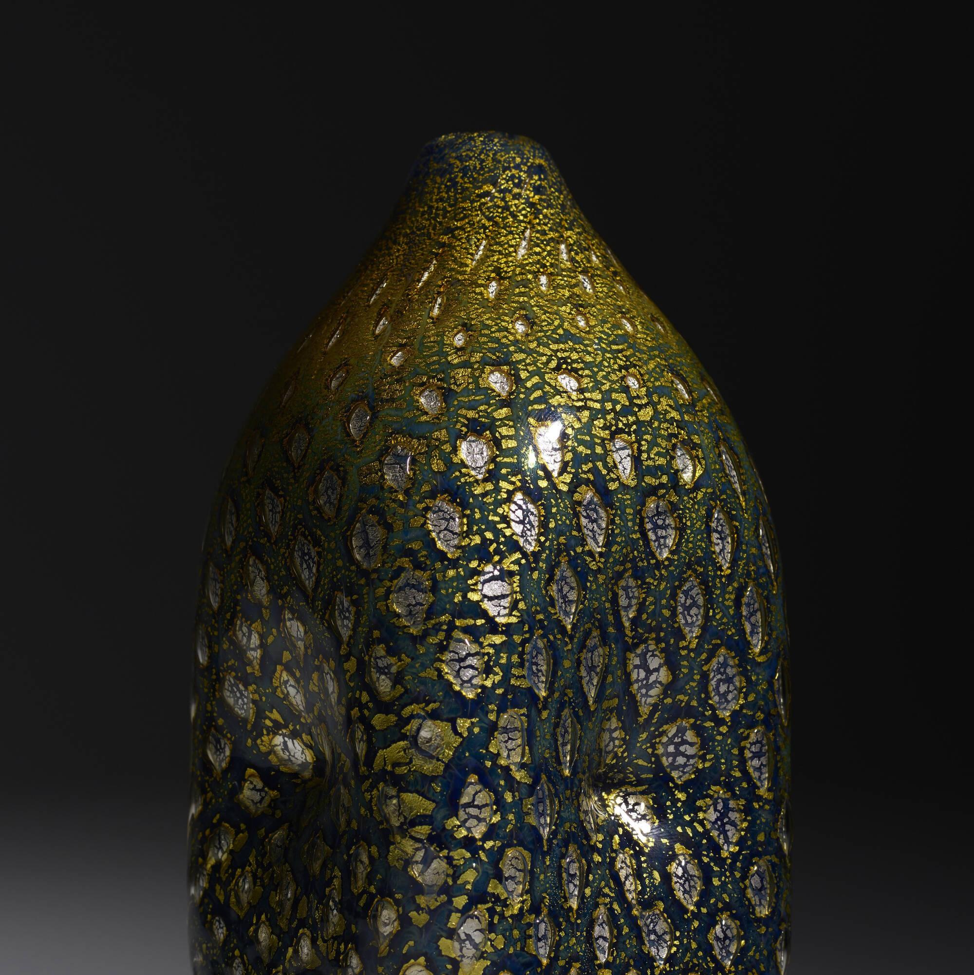 187: Giulio Radi / A Reazione Polichrome vase (3 of 3)