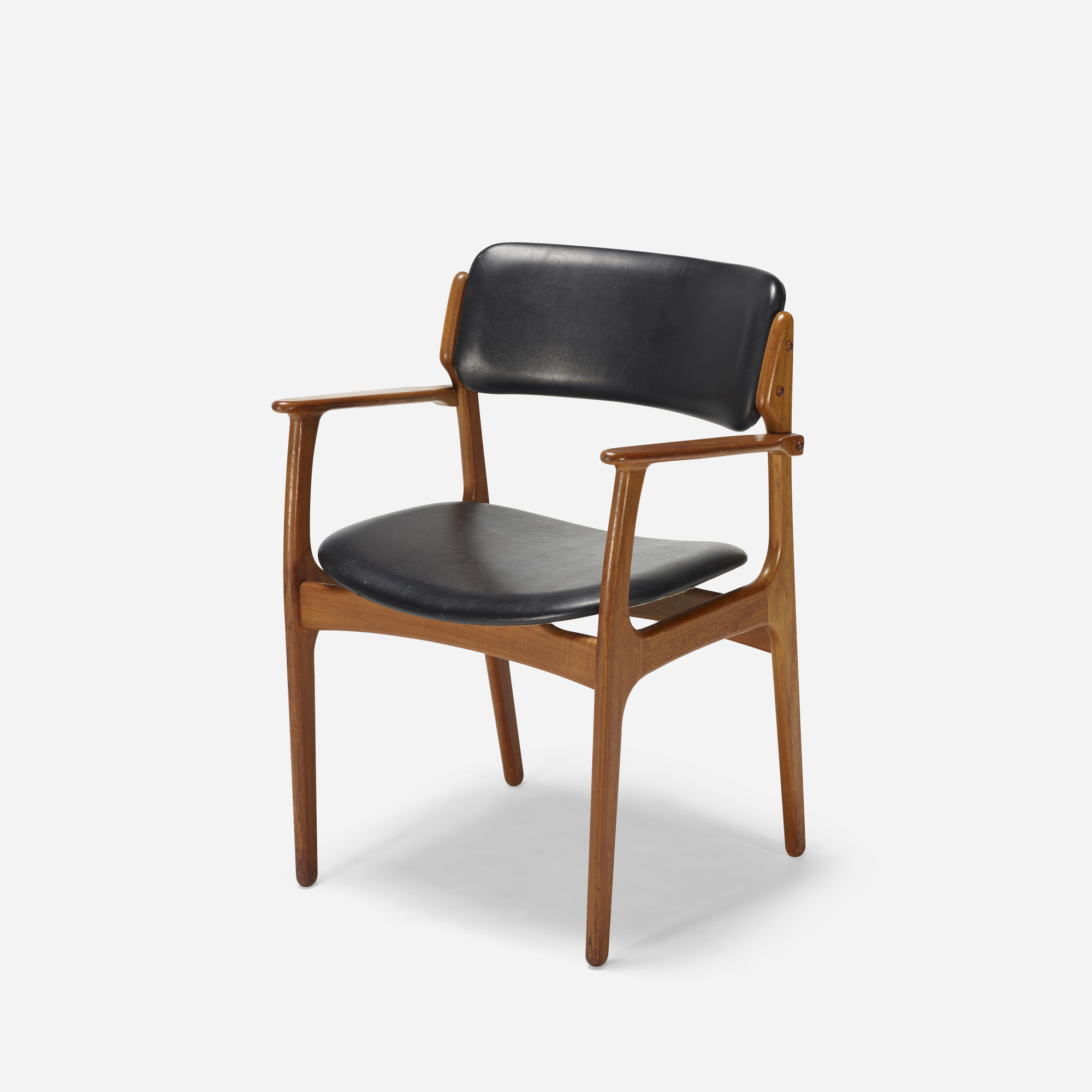 187: Erik Buck / dining chairs model OD 49, set of six (3 of 4)