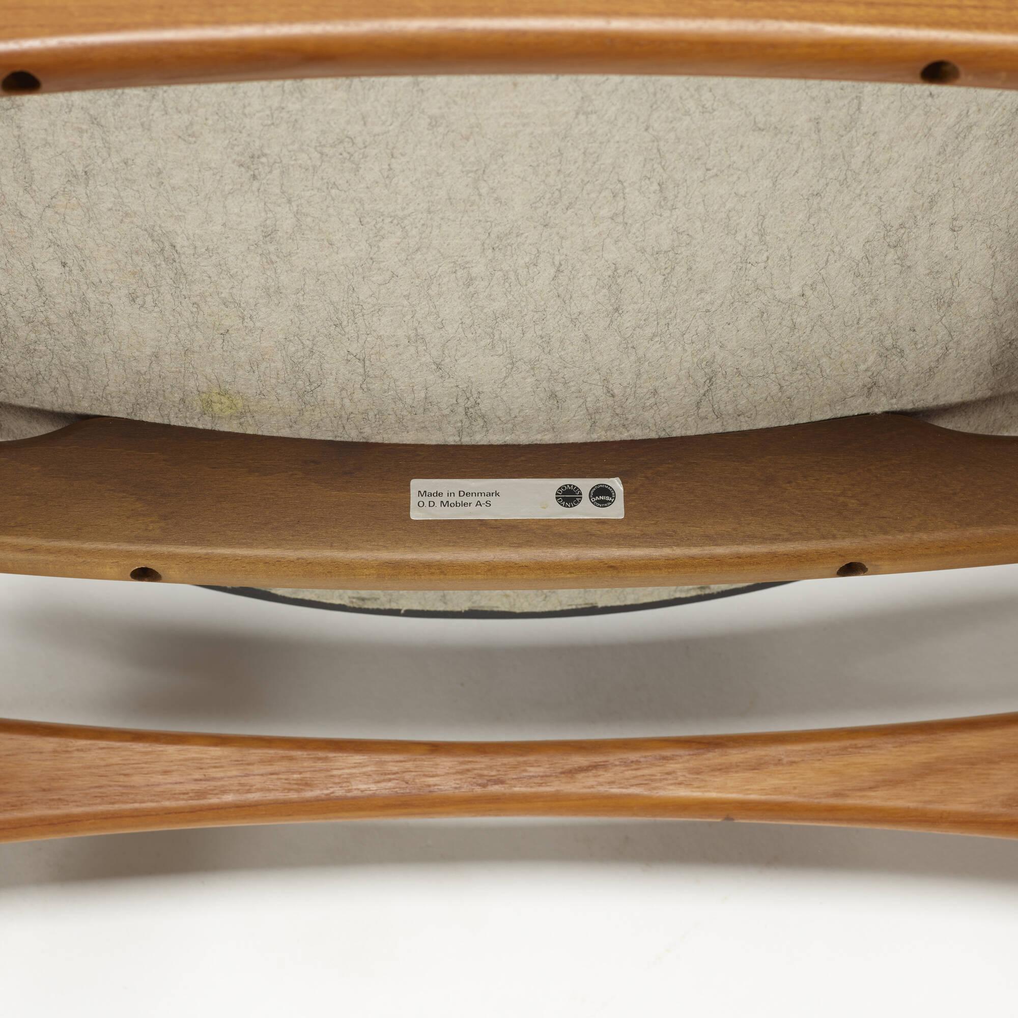 187: Erik Buck / dining chairs model OD 49, set of six (4 of 4)