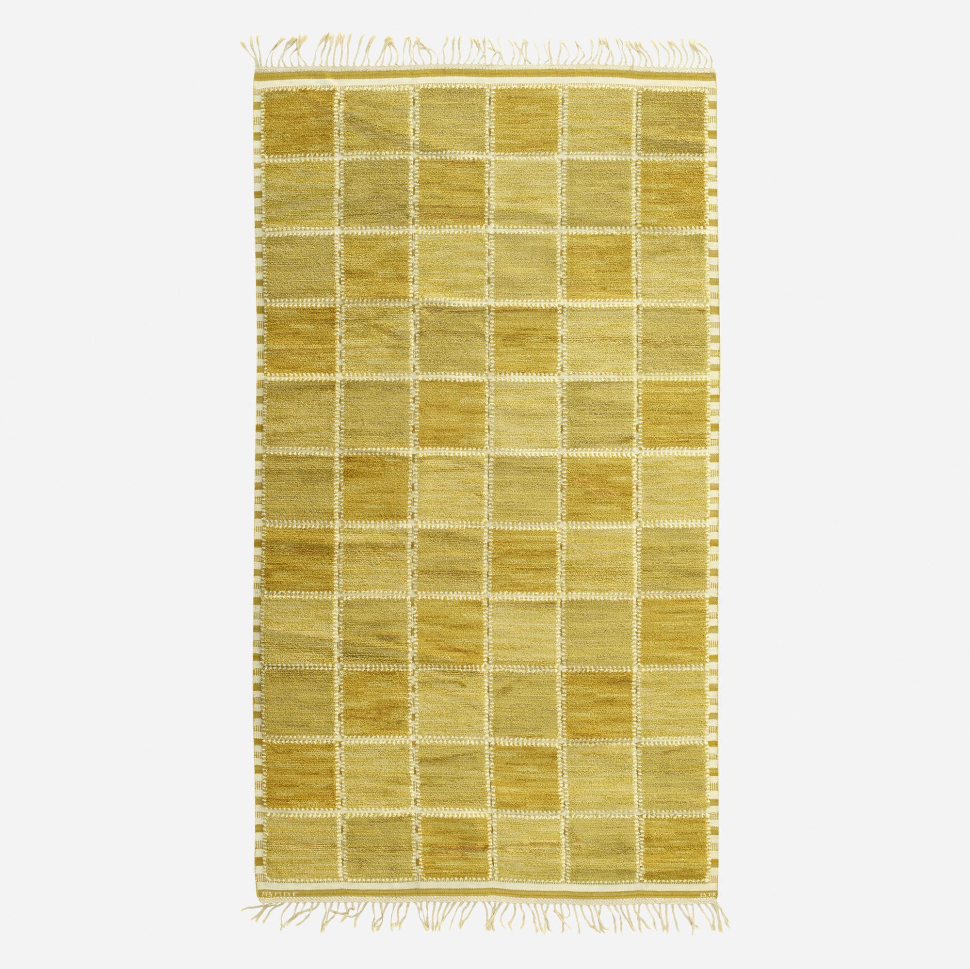 188: Barbro Nilsson / Gyllenrutan half-pile carpet (1 of 2)