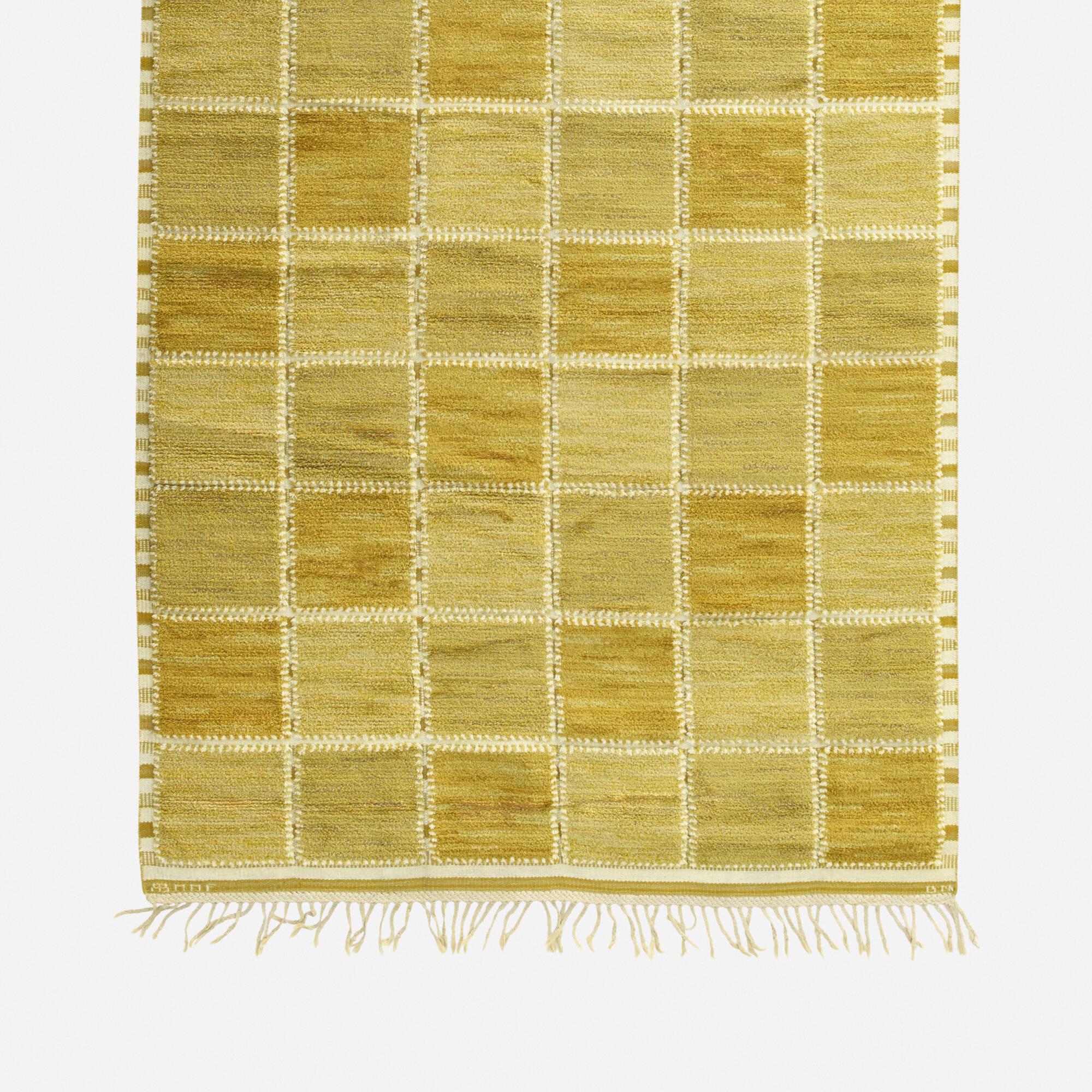 188: Barbro Nilsson / Gyllenrutan half-pile carpet (2 of 2)