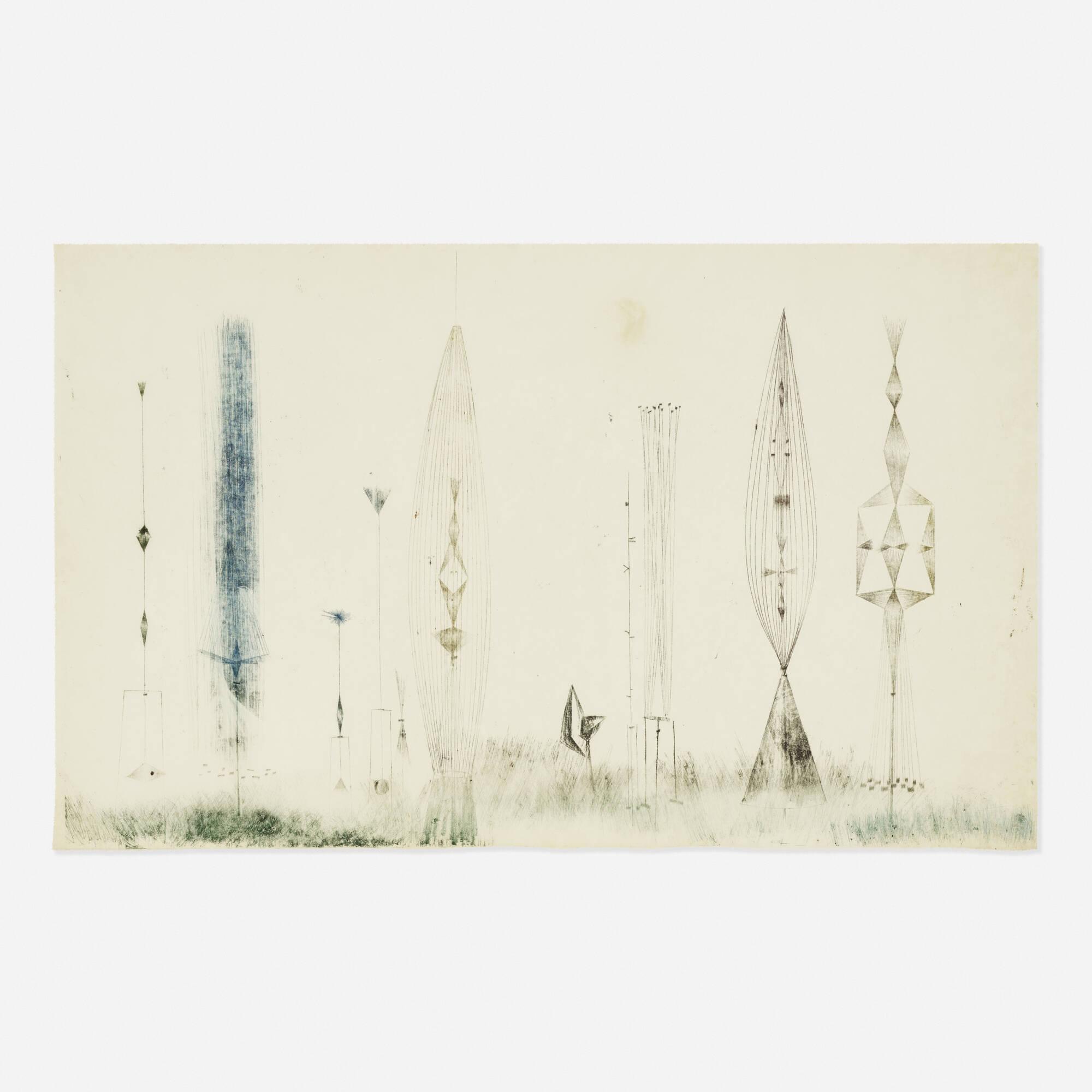 189: Harry Bertoia / Untitled (Monotype) (1 of 1)