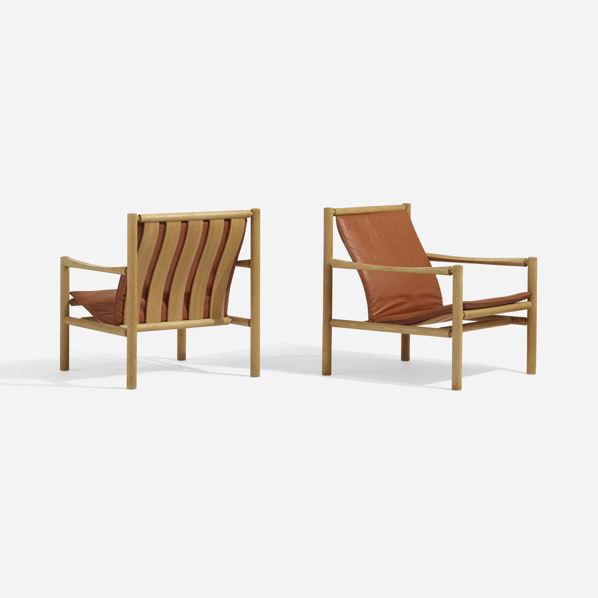 189: Jorgen Nilsson / lounge chairs, pair (1 of 4)