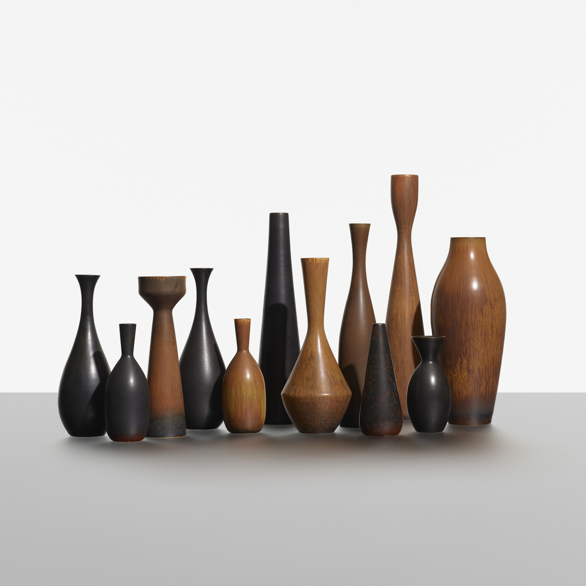 189: Carl-Harry Stalhane / collection of twelve vases (1 of 3)