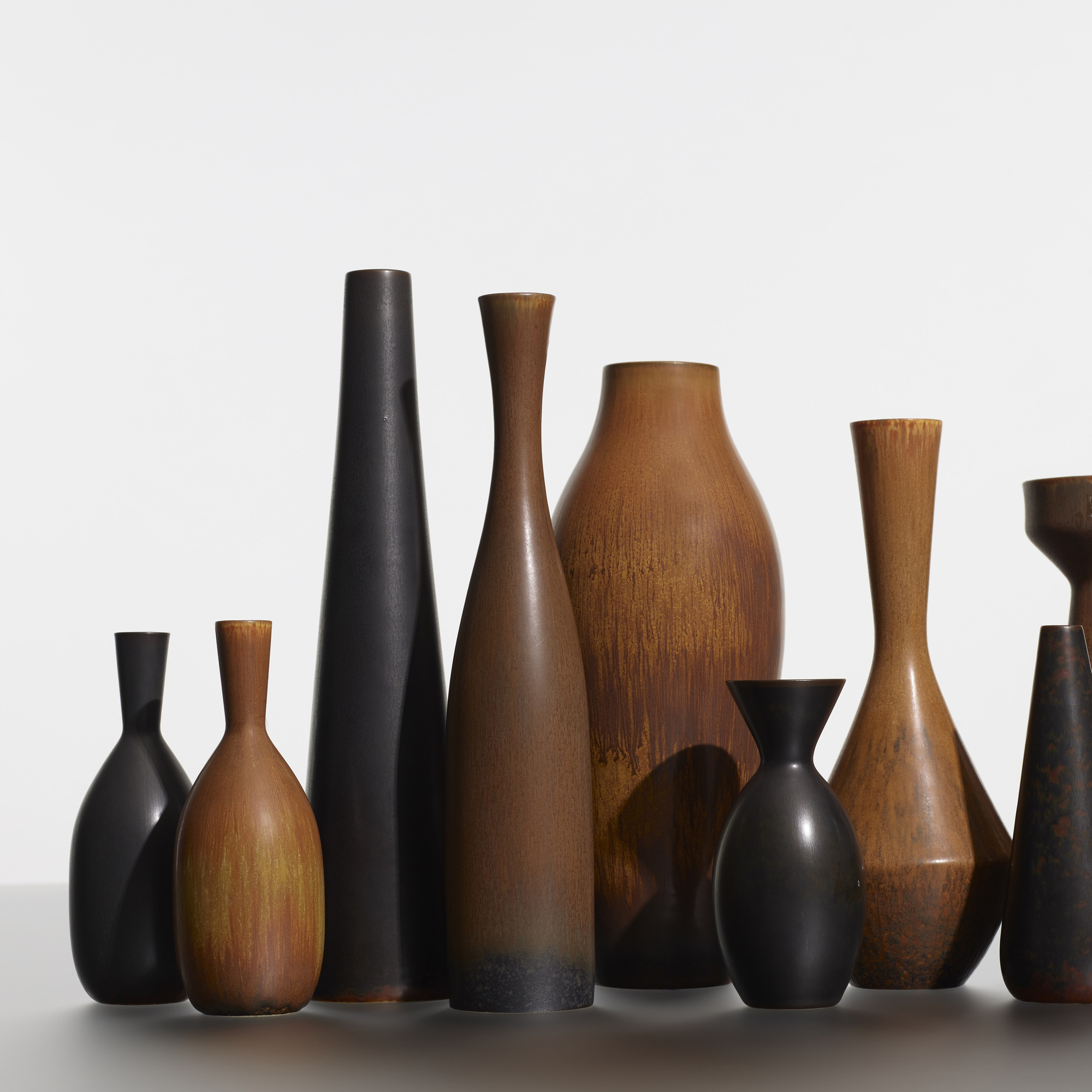 189: Carl-Harry Stalhane / collection of twelve vases (2 of 3)