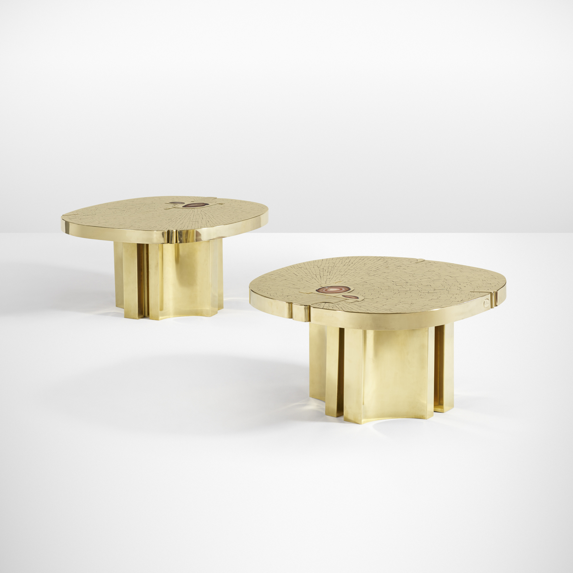 18: Jean Claude Dresse / Pair of Rare and Important tables (1 of 4)