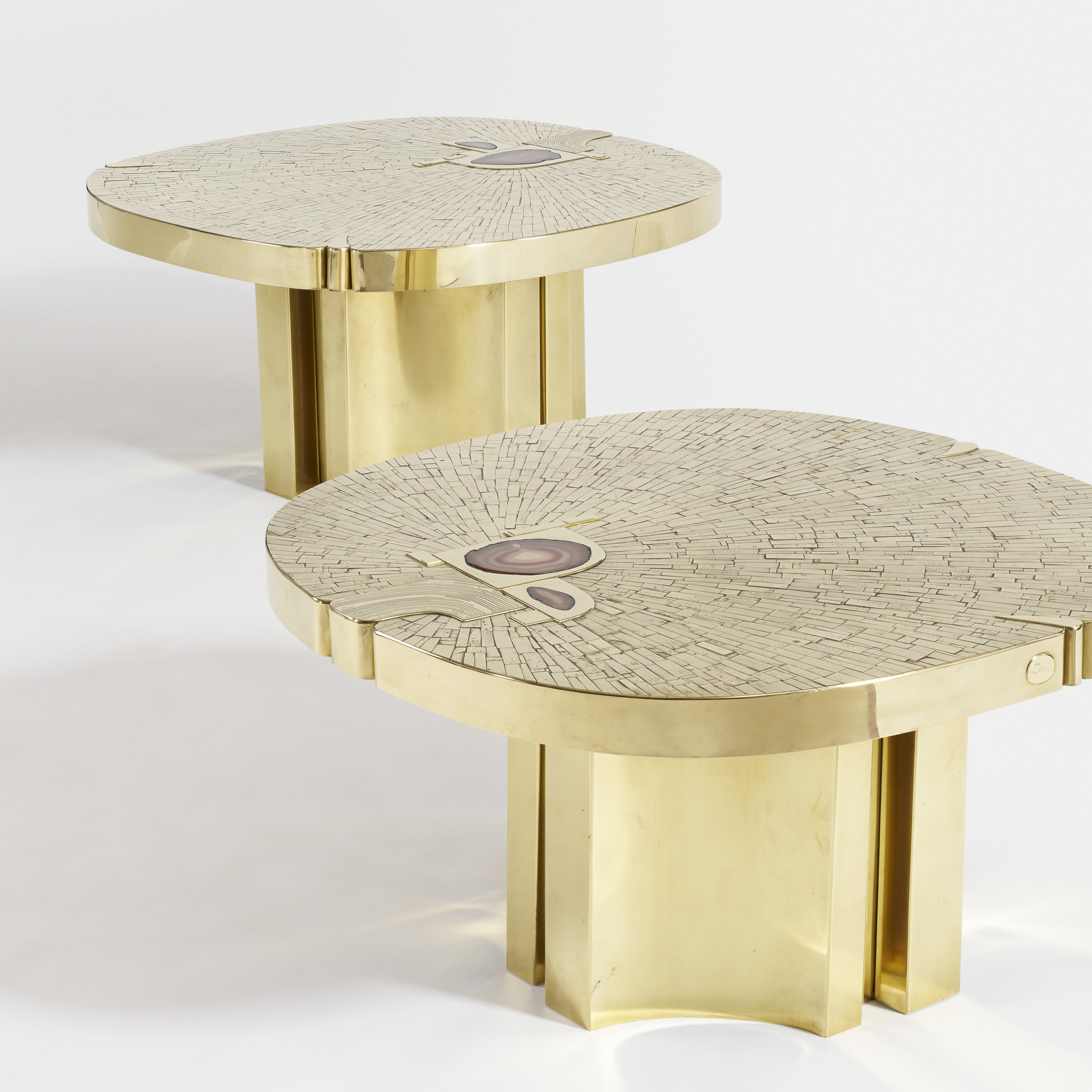 18: Jean Claude Dresse / Pair of Rare and Important tables (2 of 4)