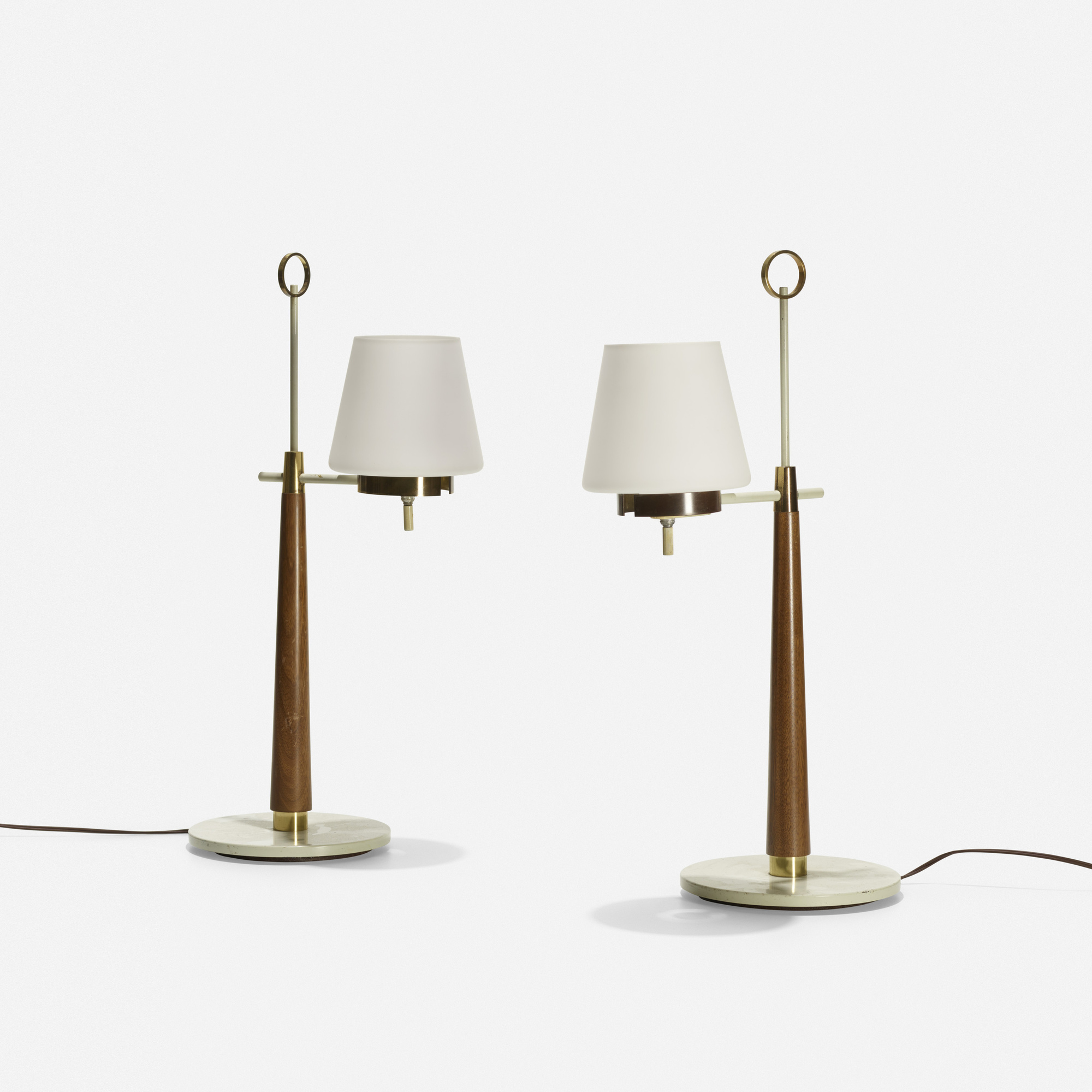 190: Gerald Thurston / table lamps, pair (1 of 1)
