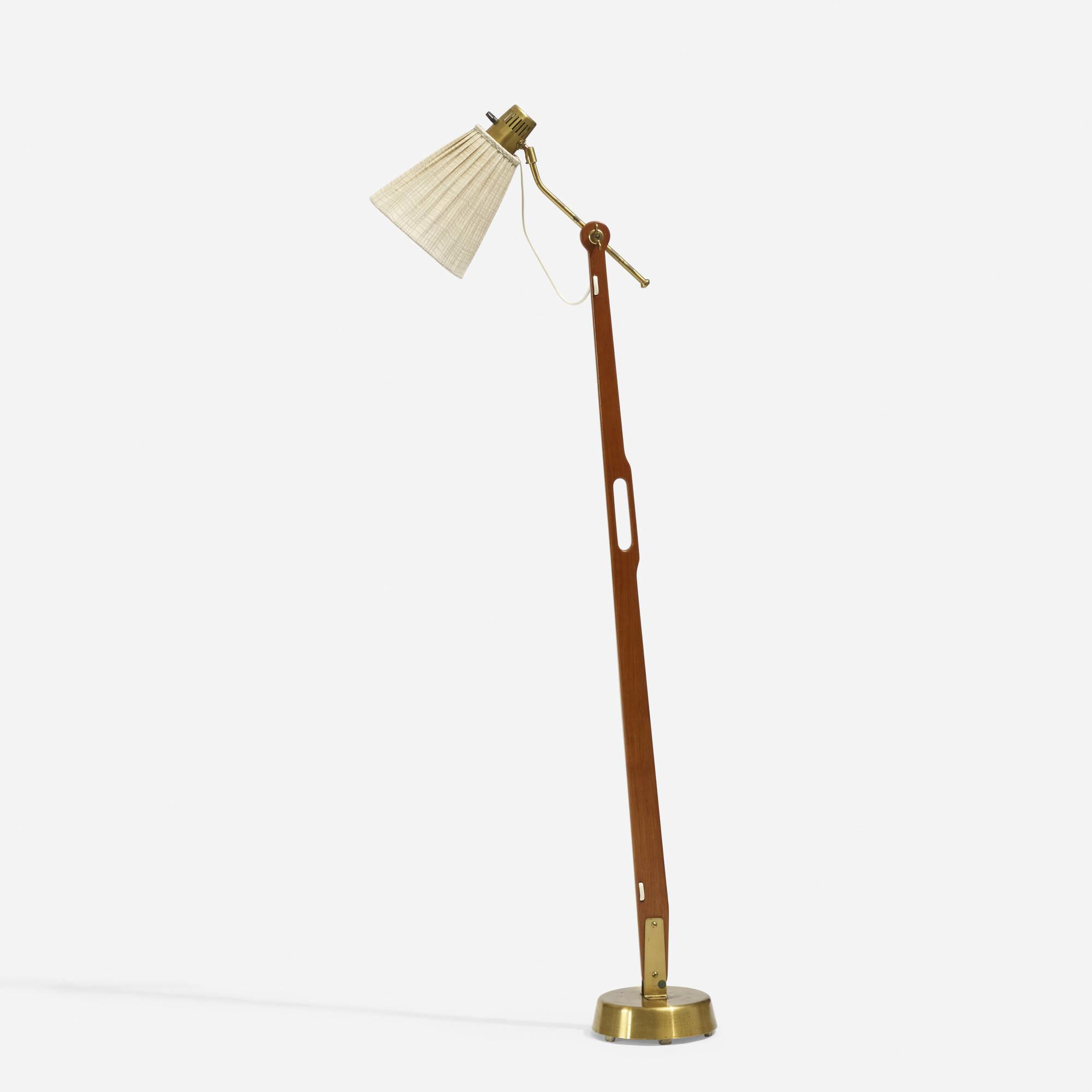 190: Hans Bergström / rare floor lamp (1 of 2)