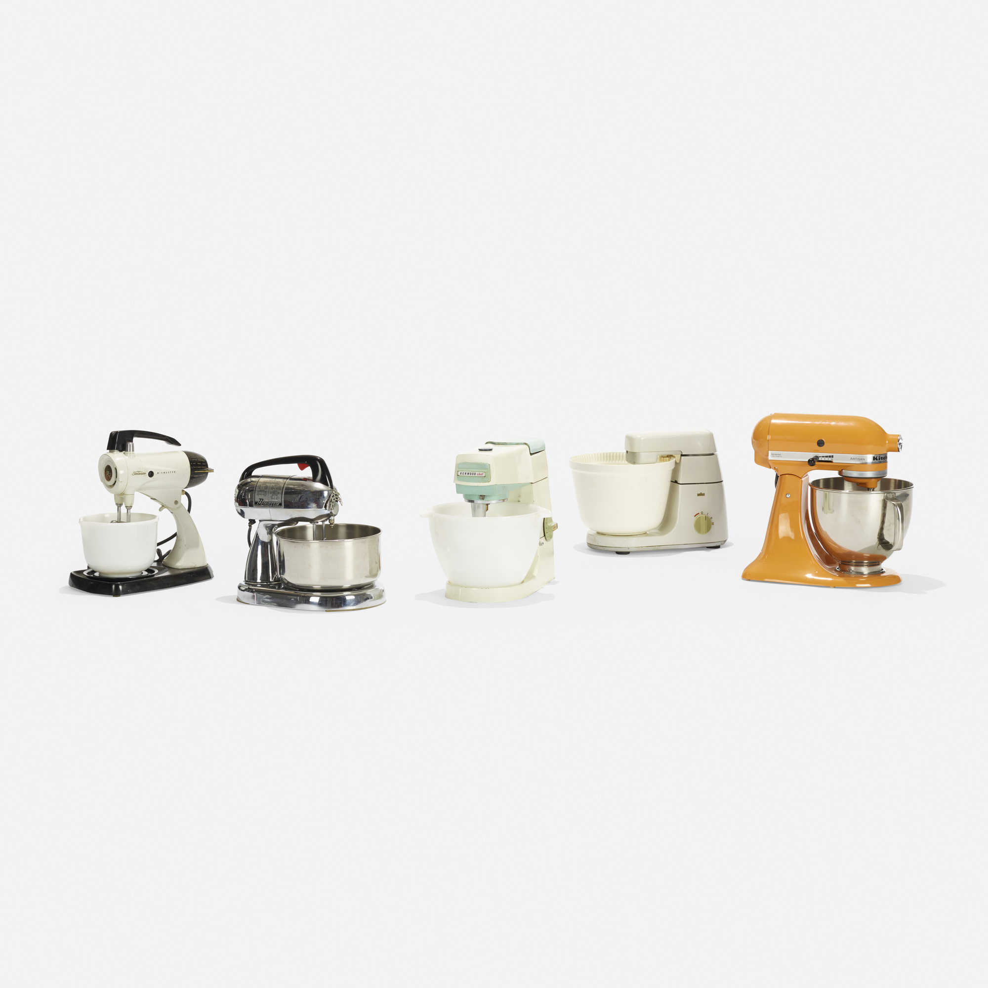 190:  / collection of five standing mixers (1 of 1)