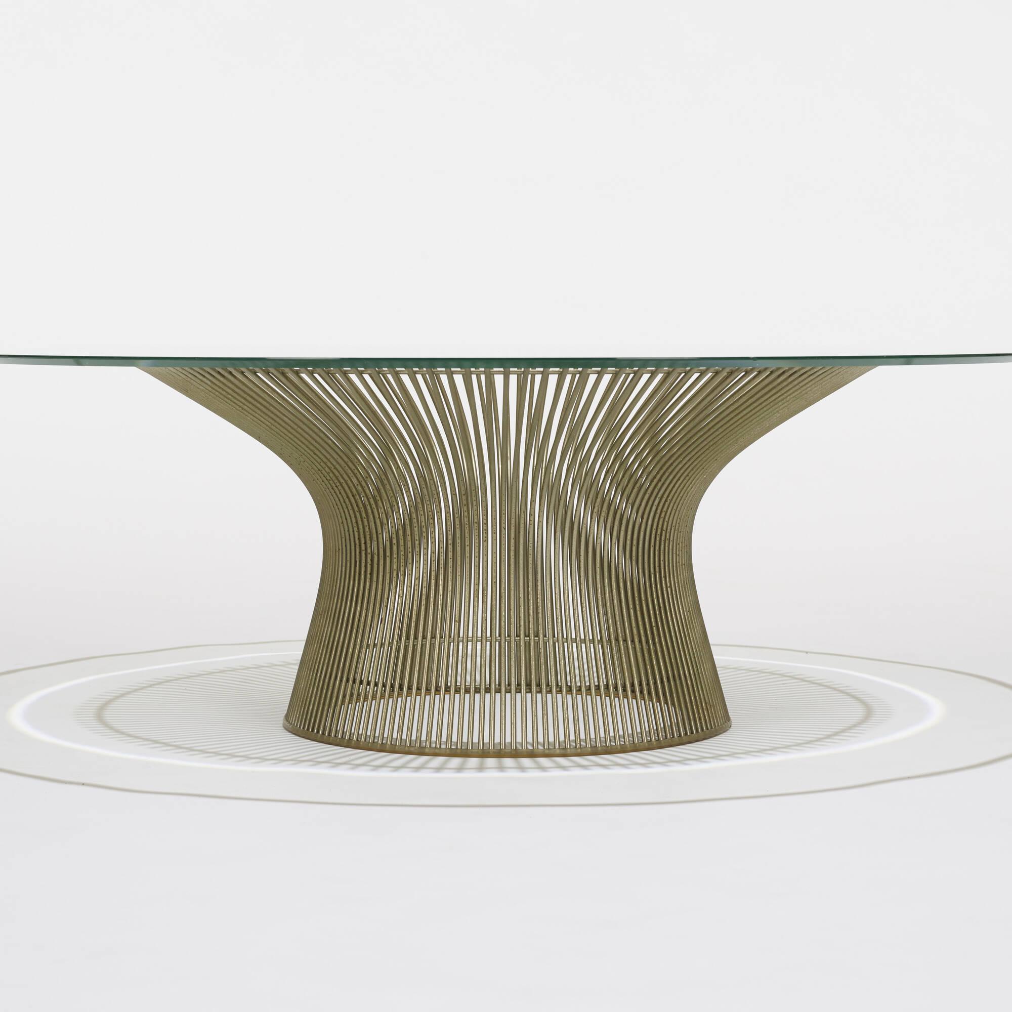 190 Warren Platner Coffee Table 2 Of
