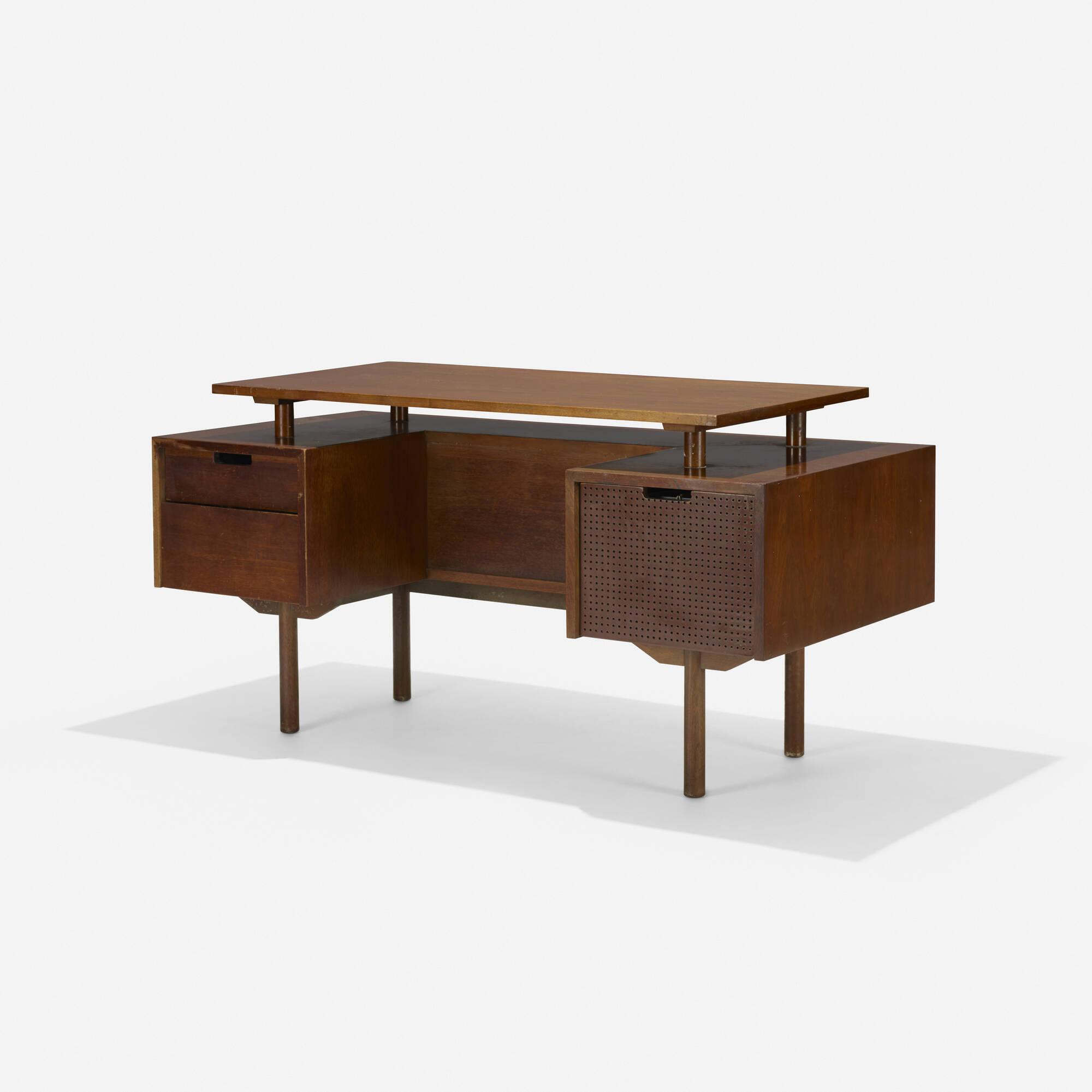 191: Milo Baughman / desk, model 1625 (1 of 4)