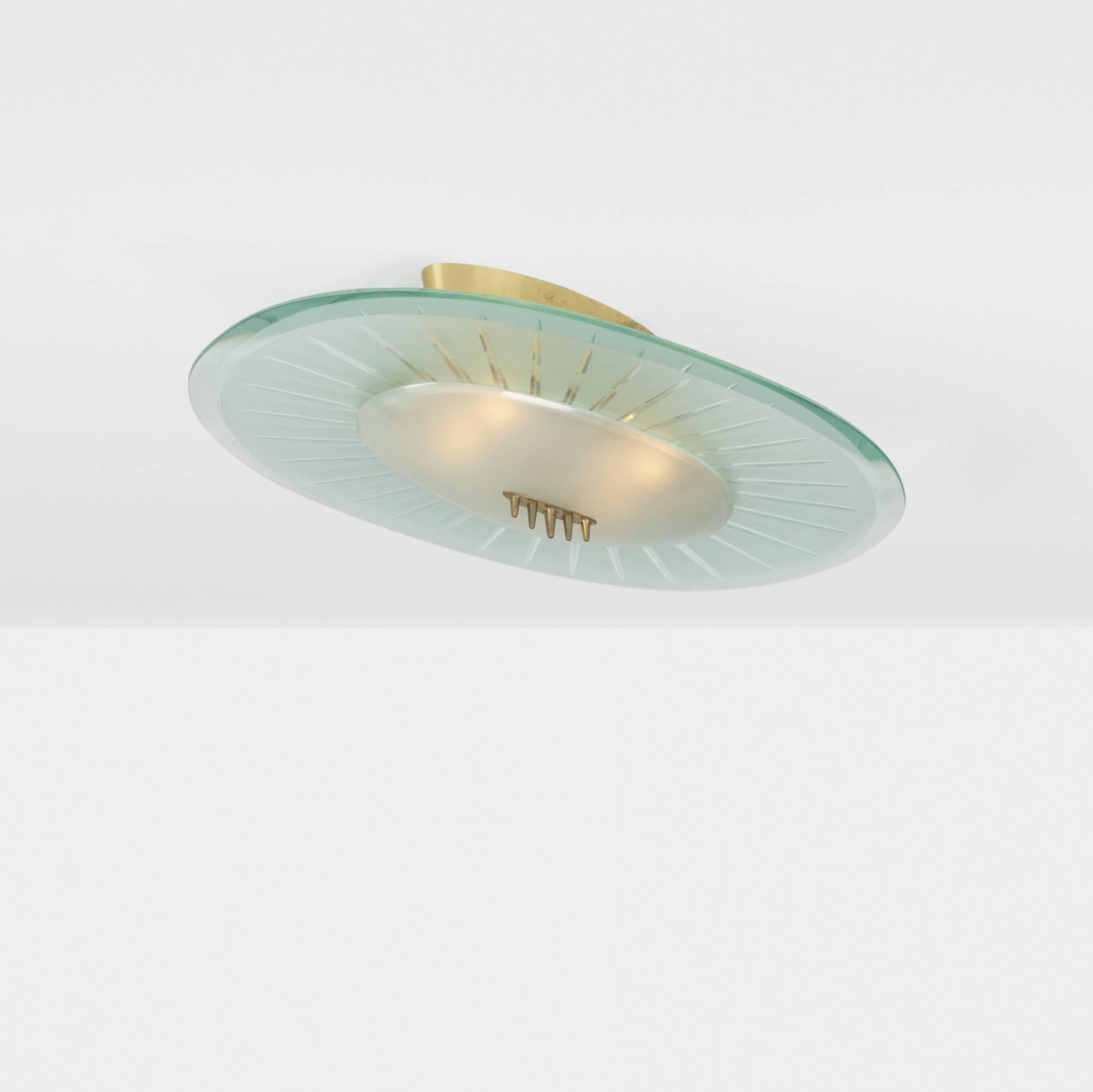 191: Pietro Chiesa / ceiling light (1 of 1)
