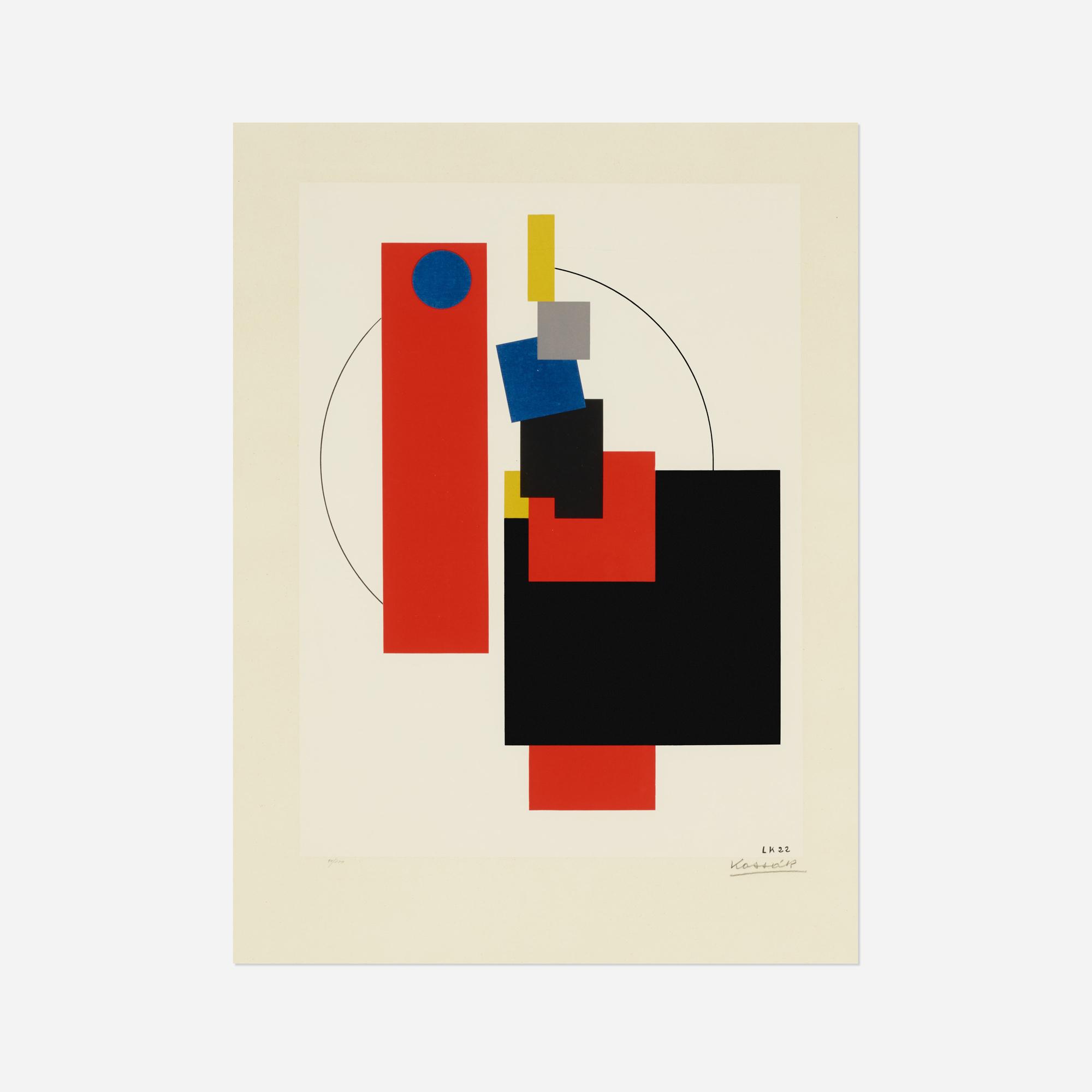 191: Lajos Kassak / Untitled (from the Bildarchitectur portfolio) (1 of 2)