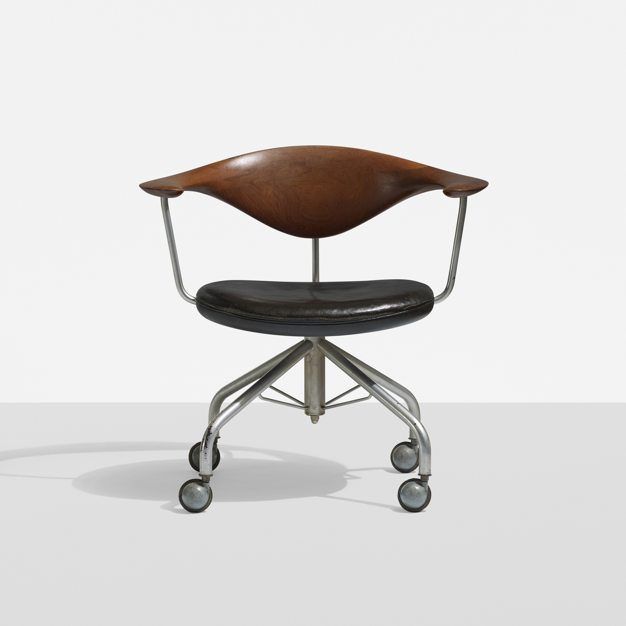 scandinavian office chairs. 191: Hans J. Wegner / Swivel Office Chair (1 Of 4) Scandinavian Chairs E