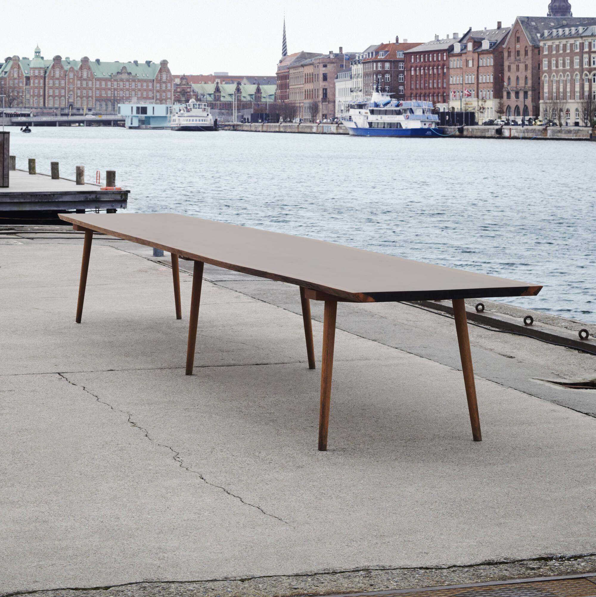 ... 191: KBH (Københavns Møbelsnedkeri) / Custom Dining Table From The  Private Dining Room