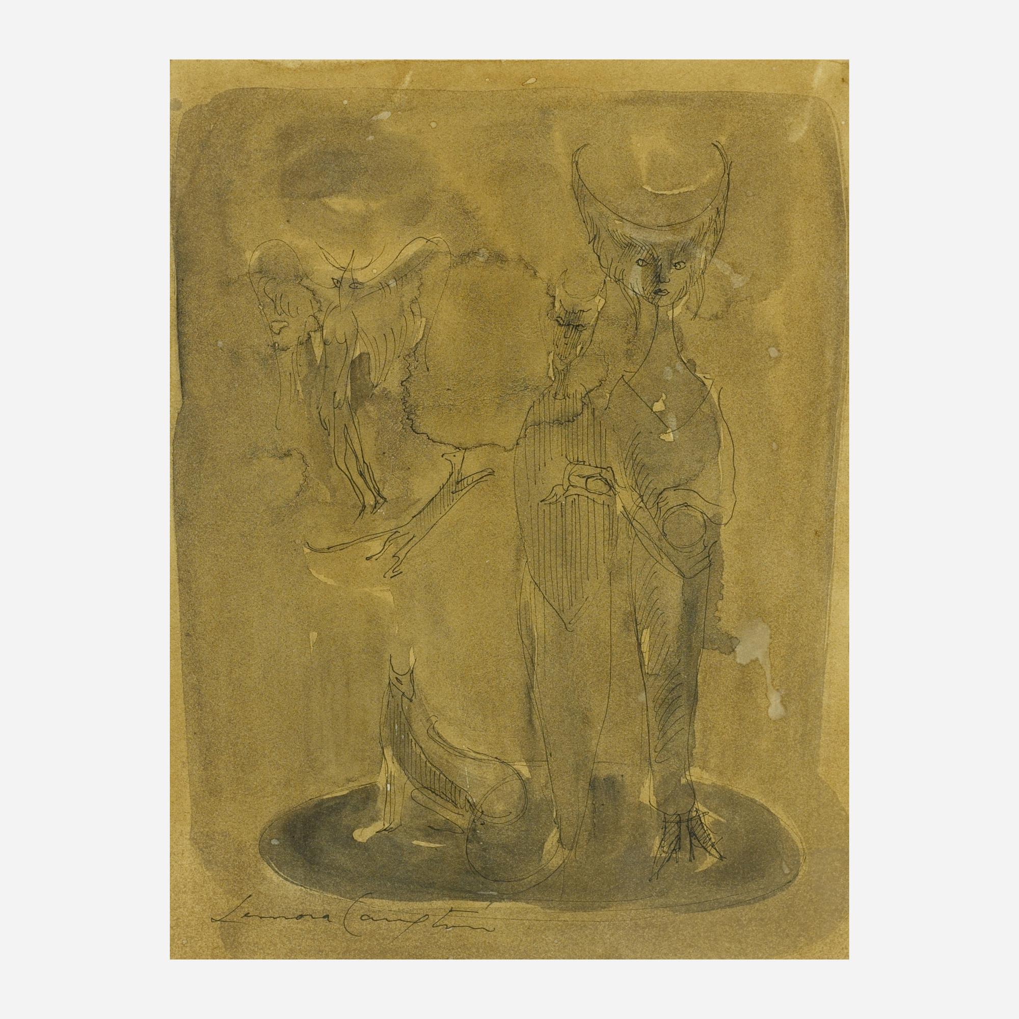 192: Leonora Carrington / Mythological Figures (1 of 1)