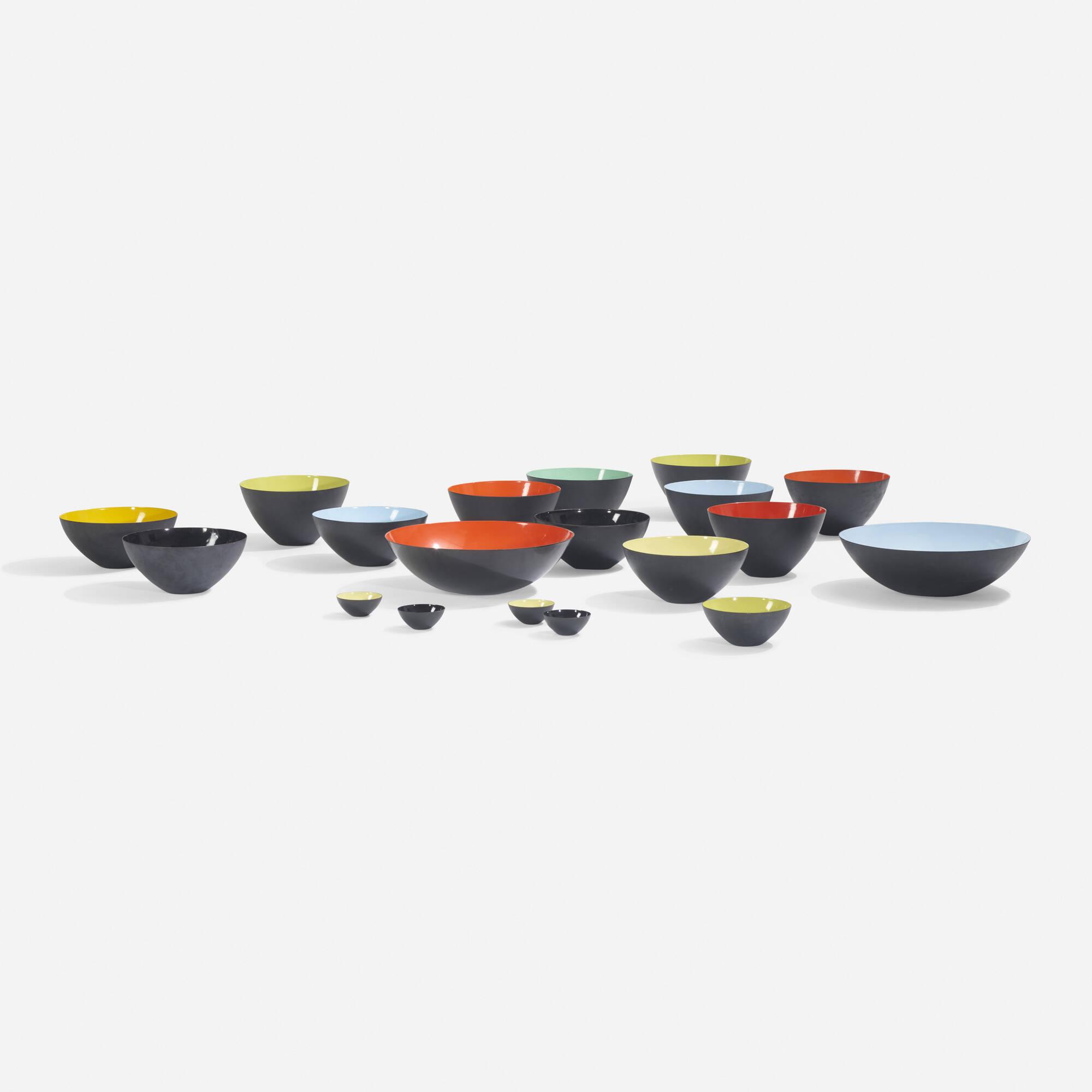192: Herbert Krenchel / collection of nineteen Krenit bowls (1 of 3)