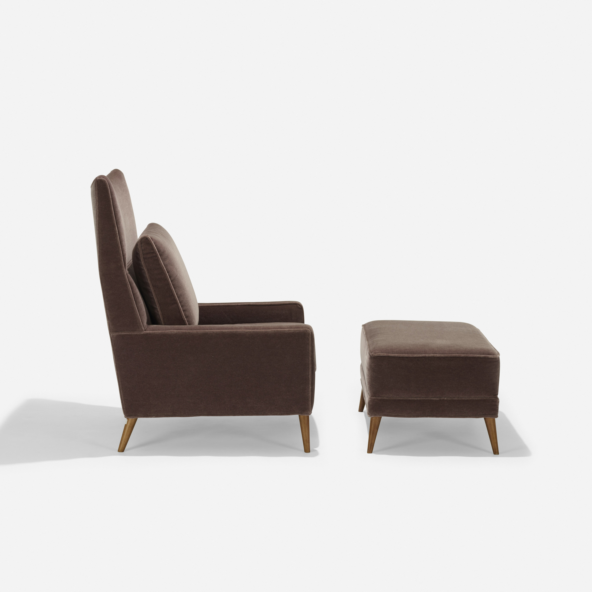 192: Paul McCobb / lounge chair and ottoman, model 314 (2 of 2)