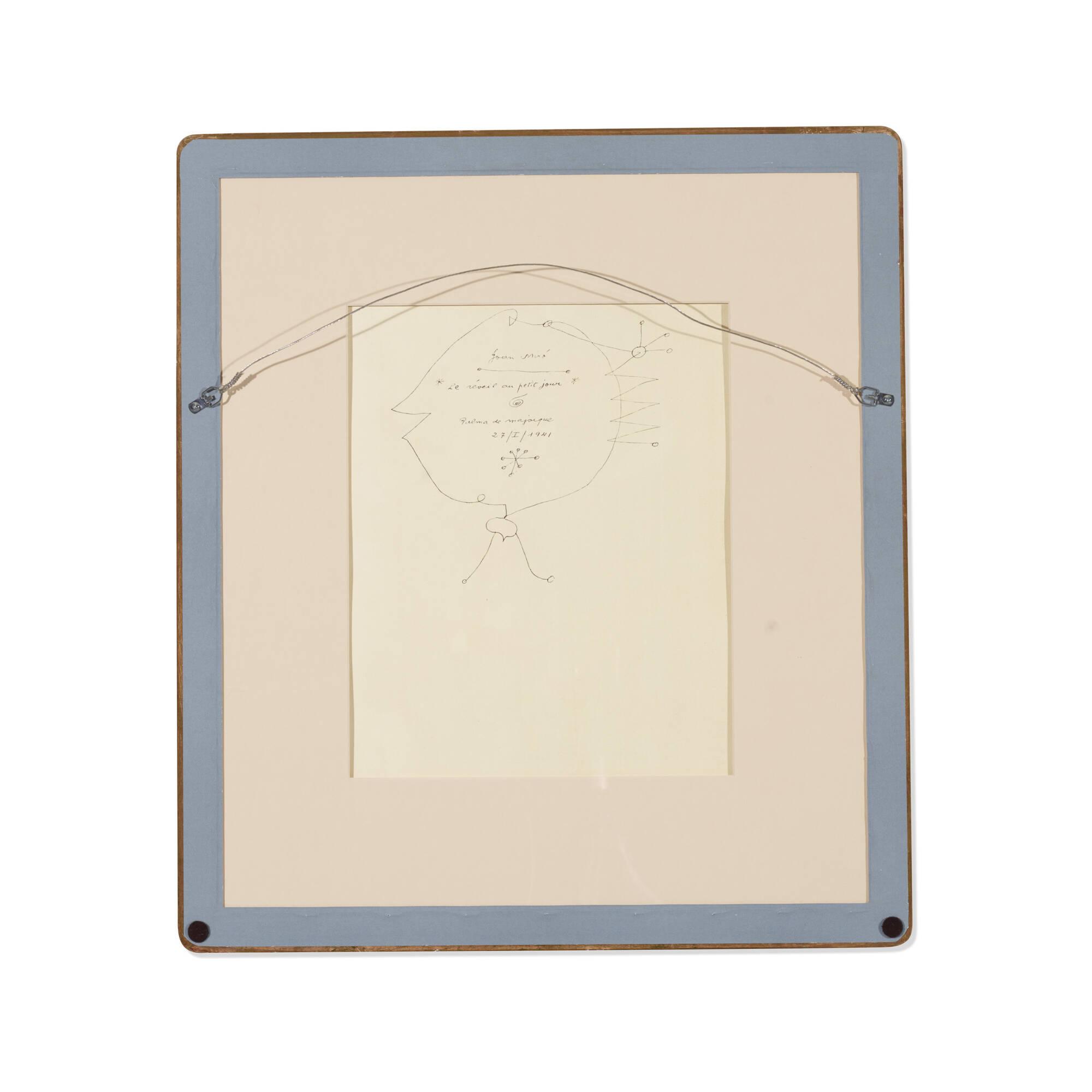 192: Joan Miró / Le Reveil au petit jour (Plate XIV from the Constellations portfolio) (2 of 2)
