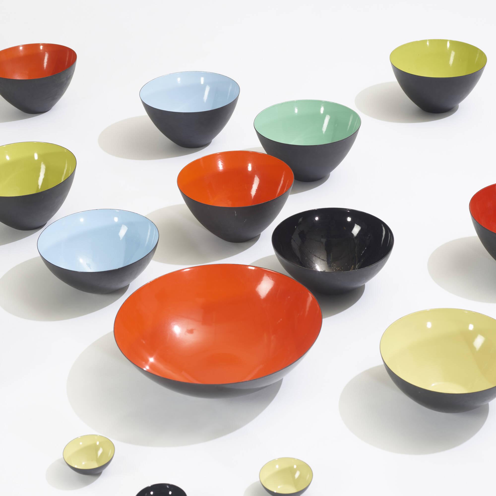 192: Herbert Krenchel / collection of nineteen Krenit bowls (3 of 3)