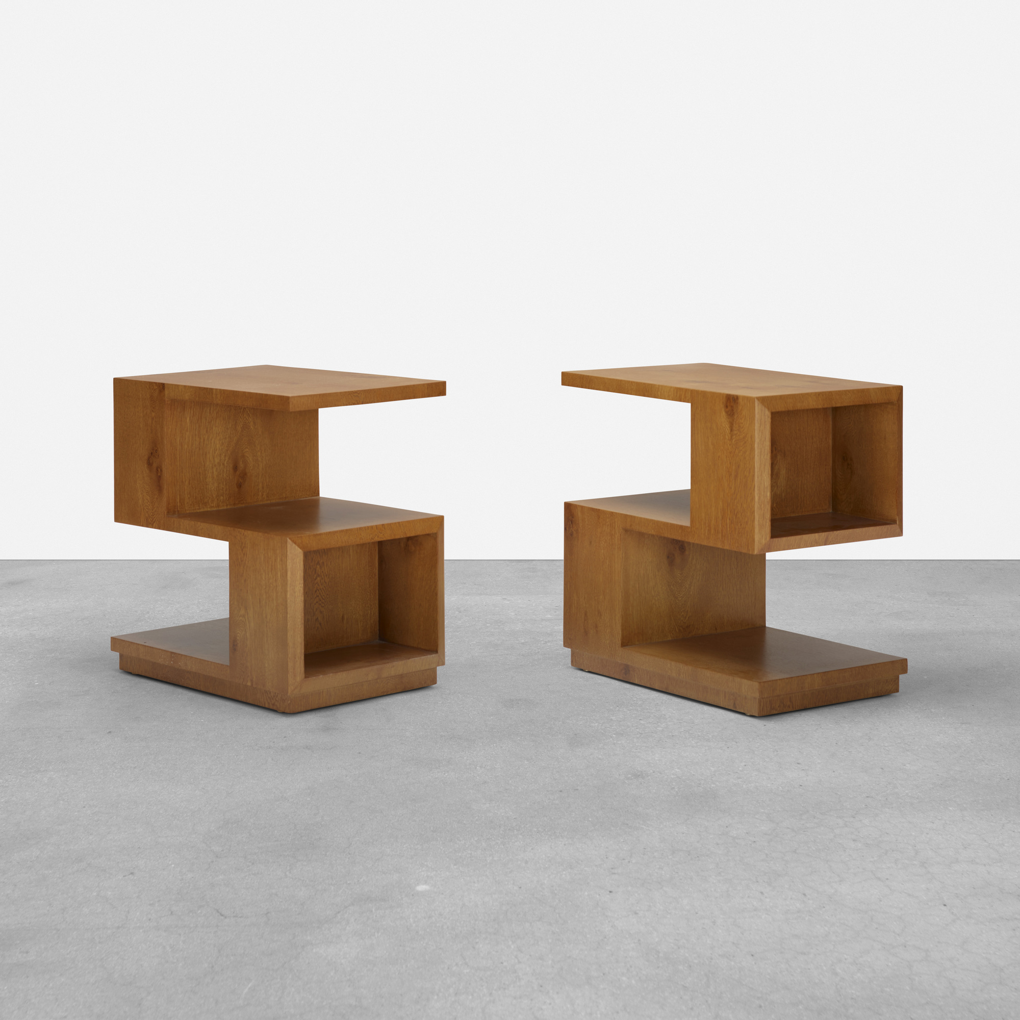 193: Samuel Marx / pair of occasional tables from the Morton D. May House (1 of 3)