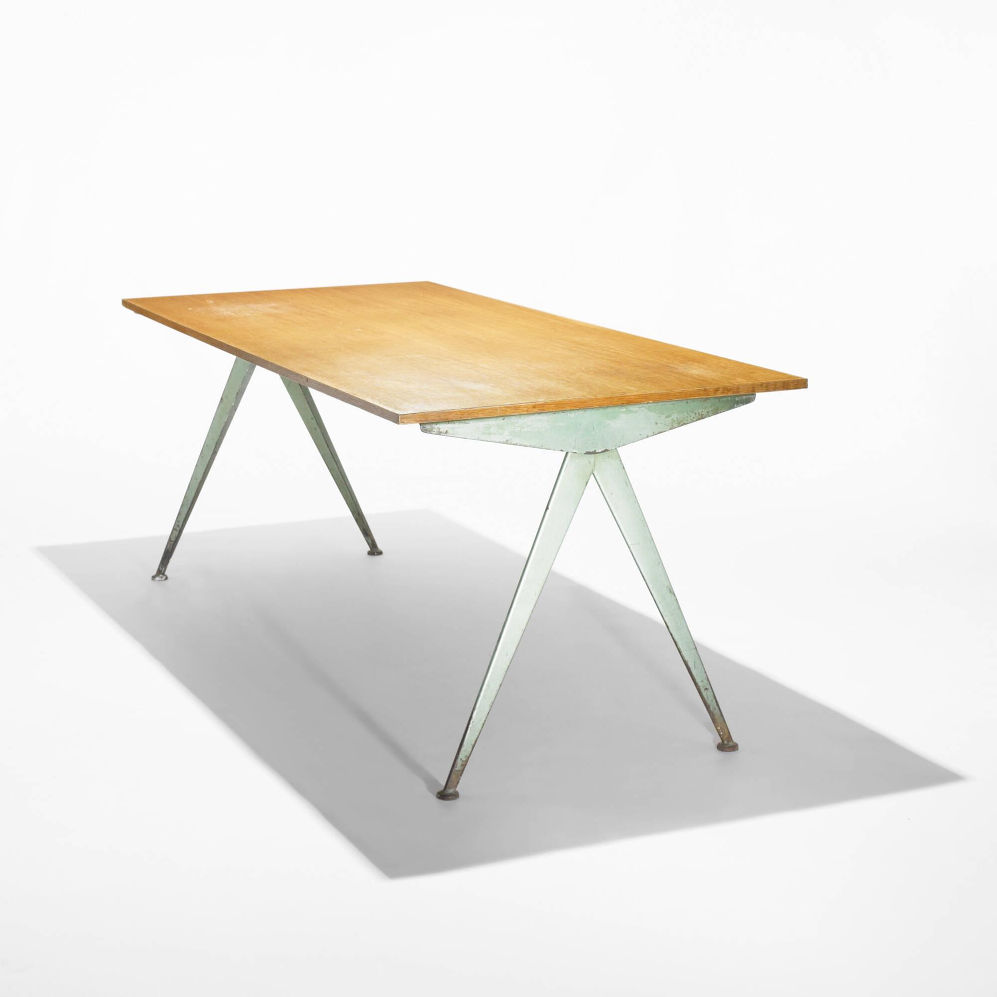 193: JEAN PROUVÉ, Compass Table U003c Important Design, 2 June 2009 U003c Auctions  | Wright: Auctions Of Art And Design