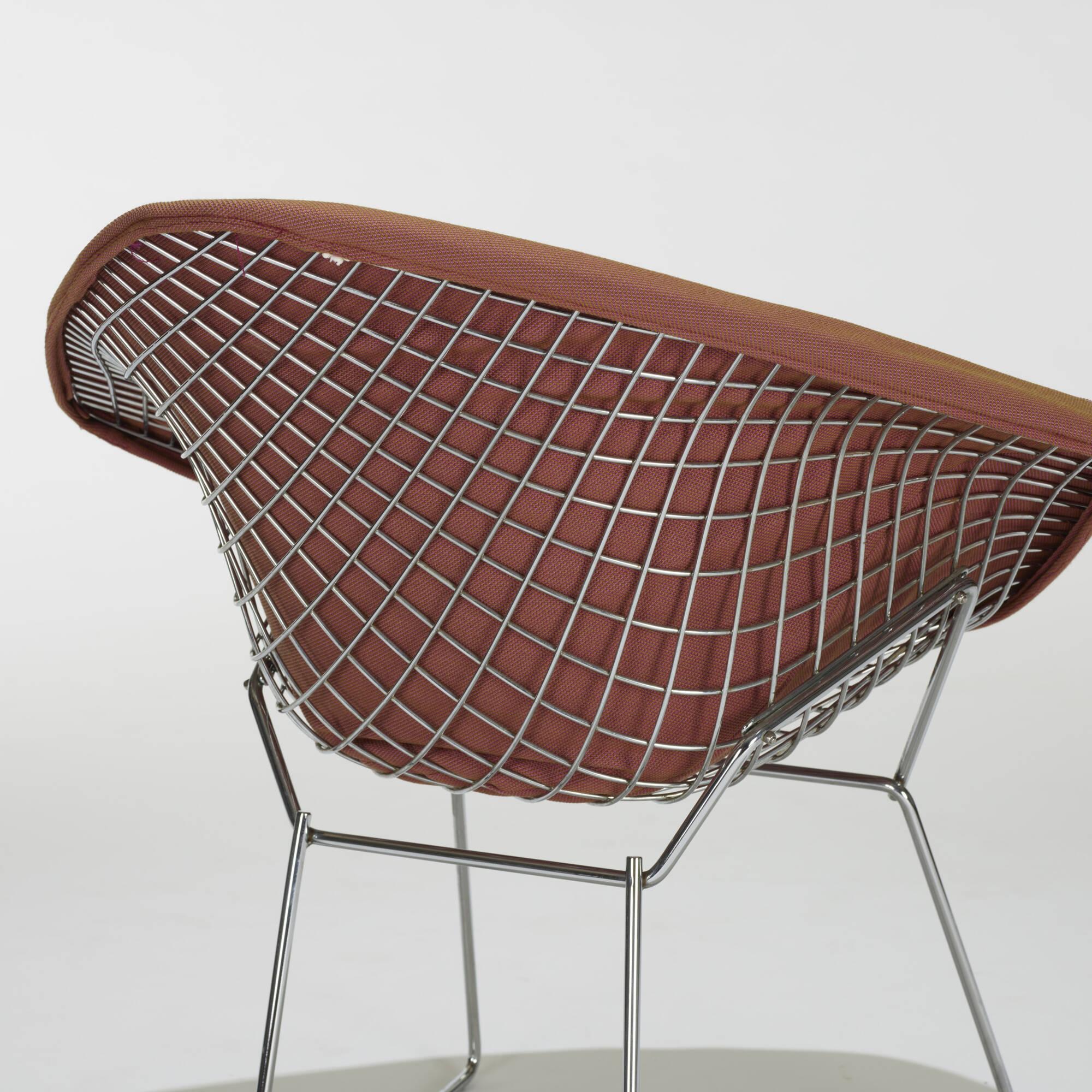 193: Harry Bertoia / Diamond Chairs, Pair (2 Of 2)