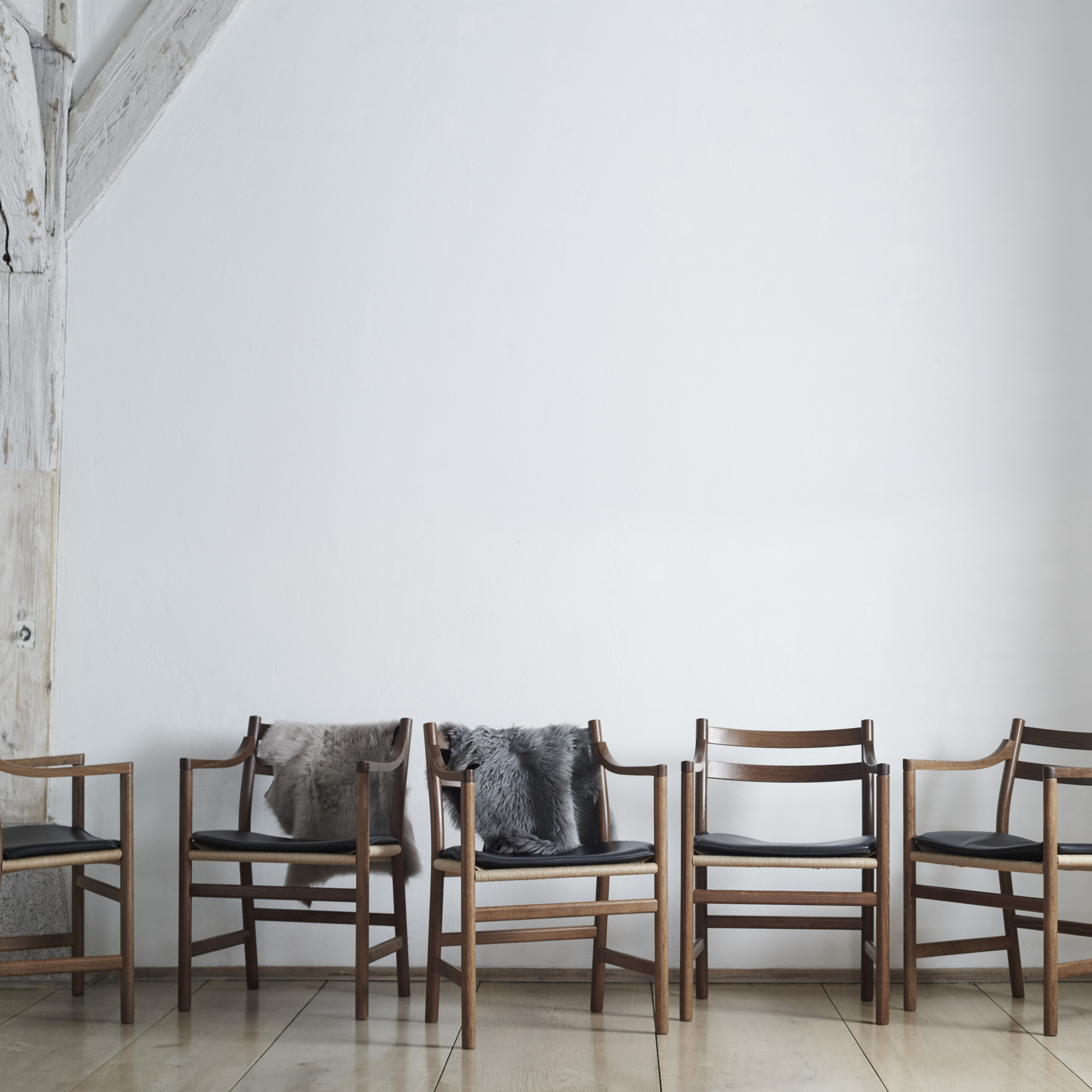 193 Hans J Wegner Dining Chairs From The Private Room Set