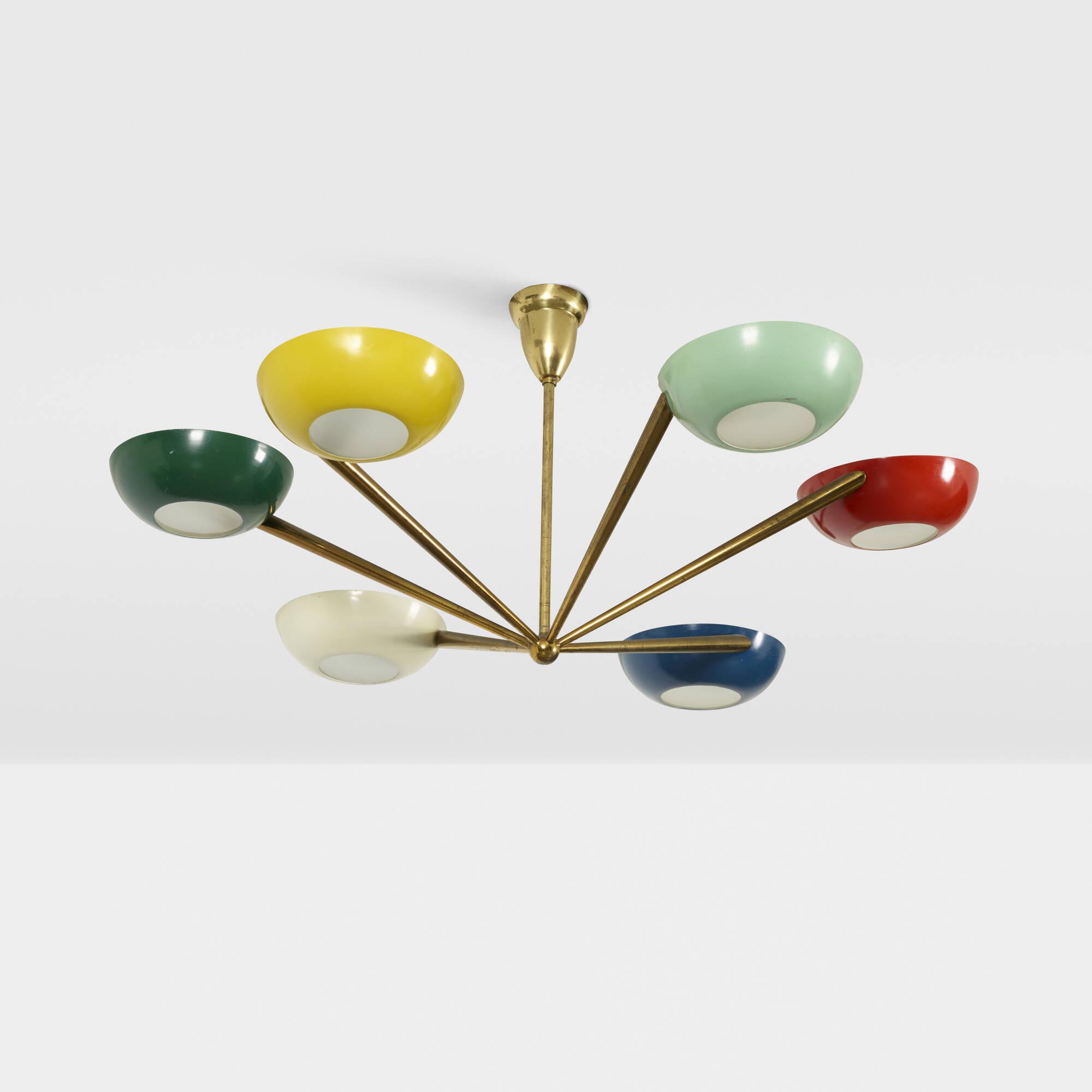 194 stilnovo chandelier art design 19 july 2018 auctions 194 stilnovo chandelier 1 of 2 aloadofball Gallery