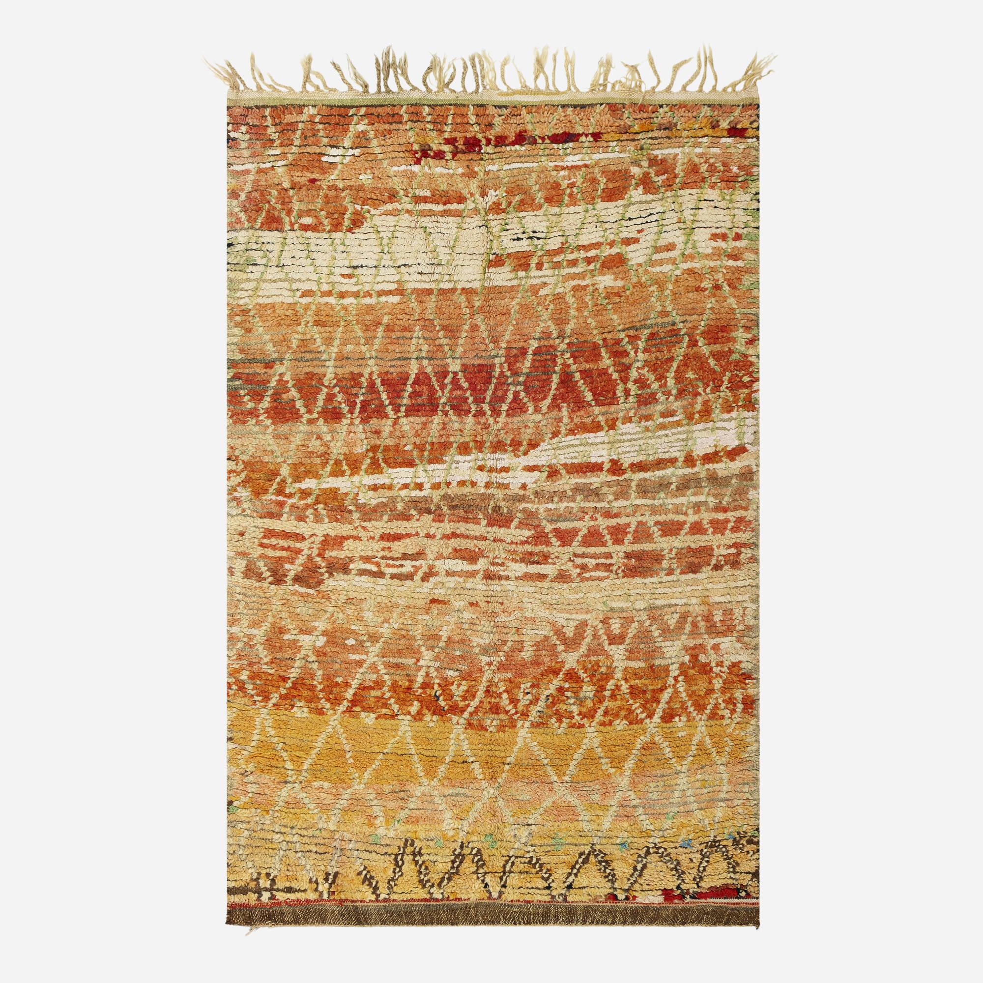 194: Moroccan / half-pile carpet (1 of 1)