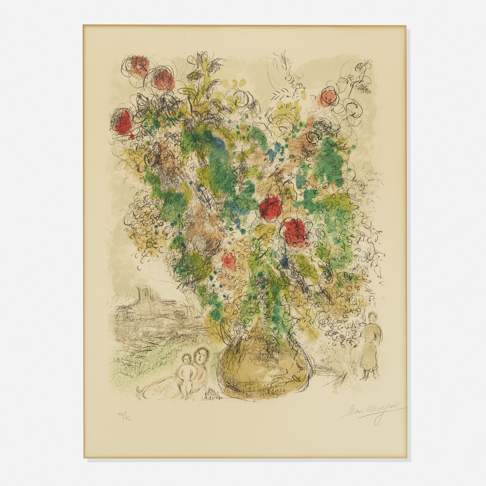 194: Marc Chagall / Roses and Mimosa (1 of 2)