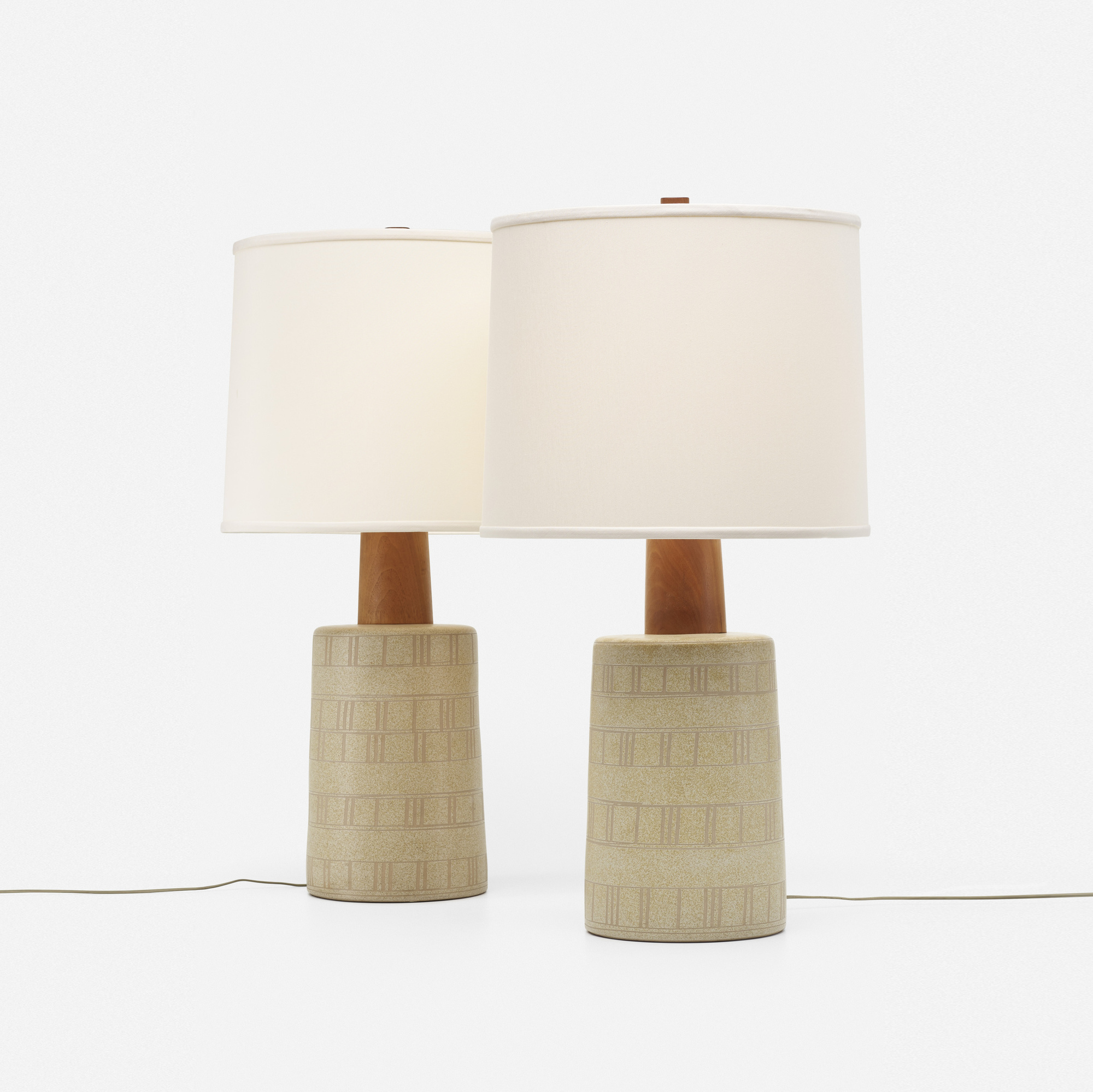 195: Gordon and Jane Martz / table lamps, pair (1 of 2)