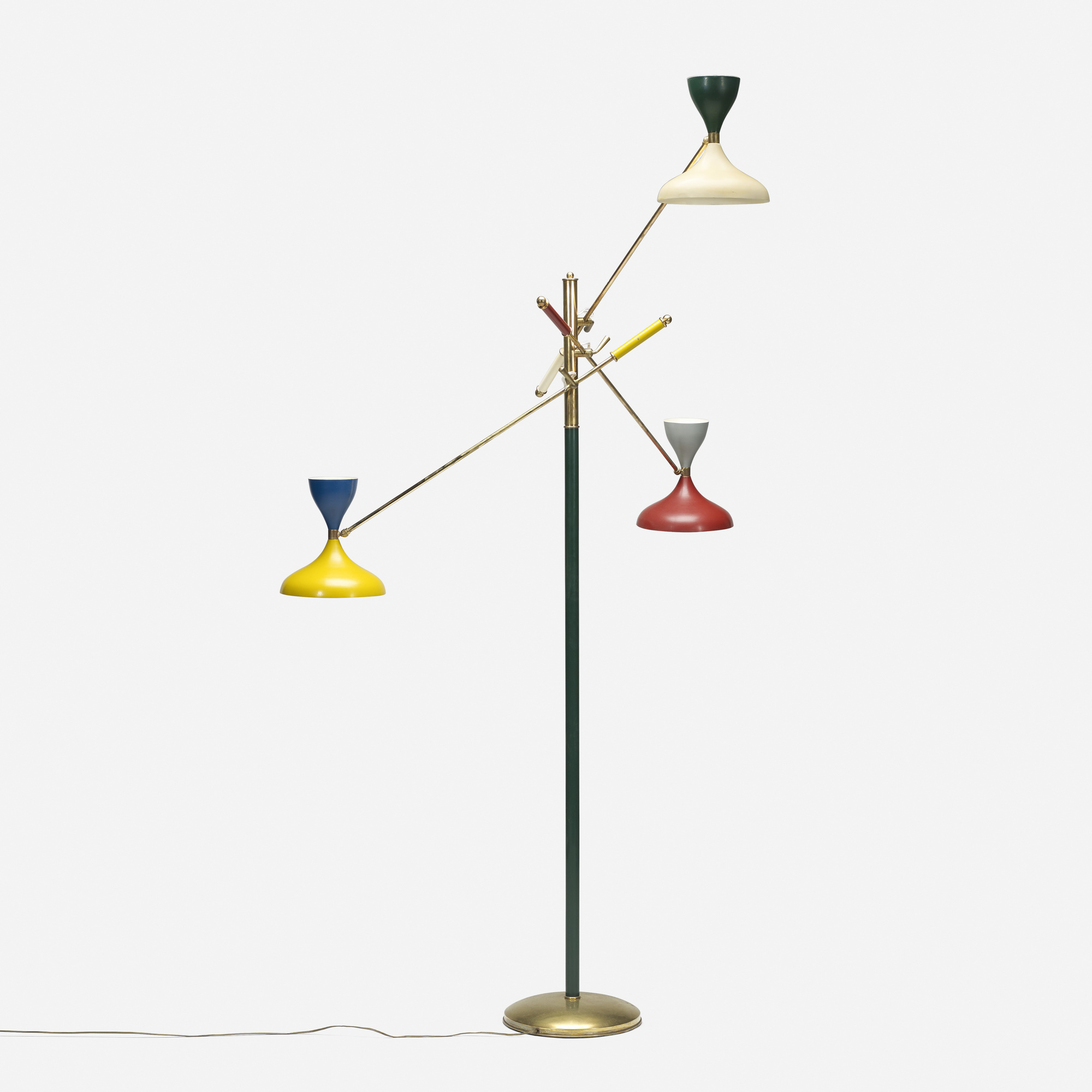 195: Stilnovo / three-arm floor lamp (1 of 1)