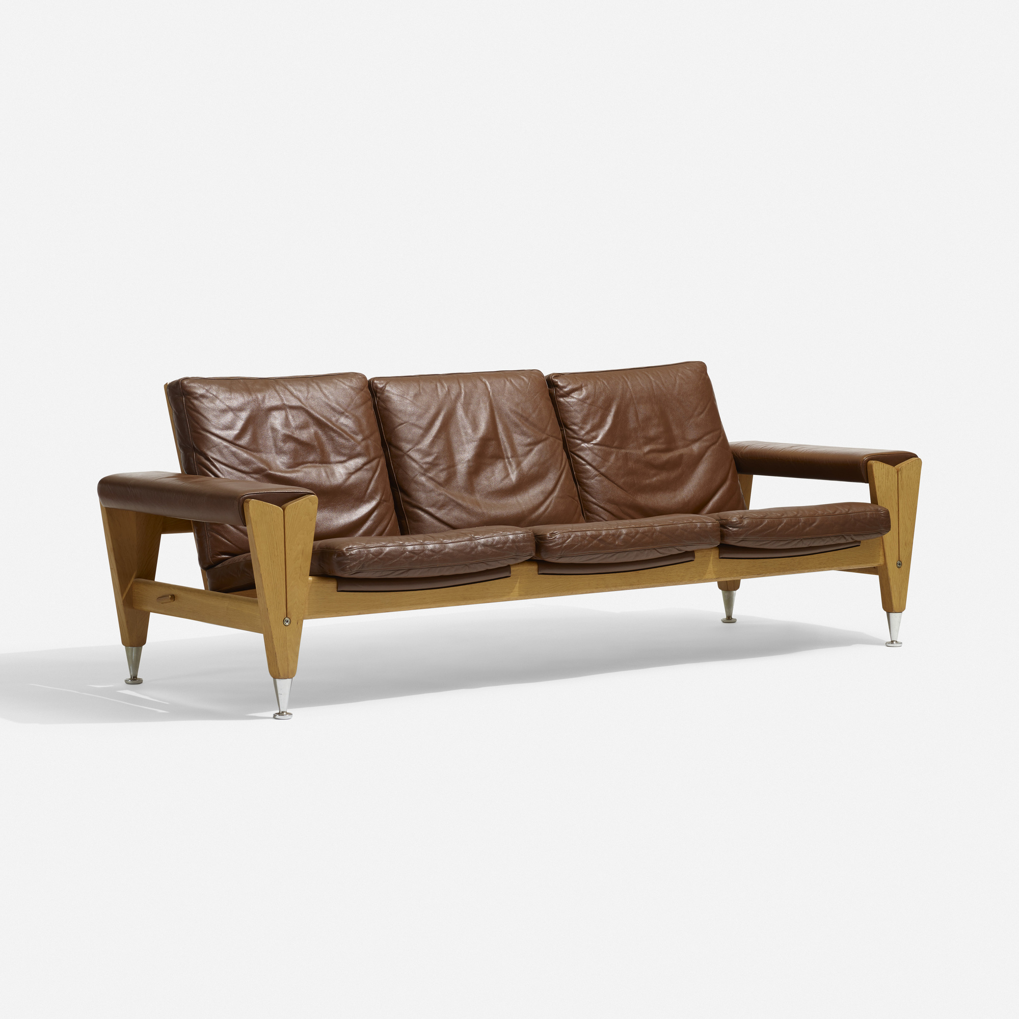 195 Hans J Wegner Sofa Model Ge 500 Scandinavian Design 26