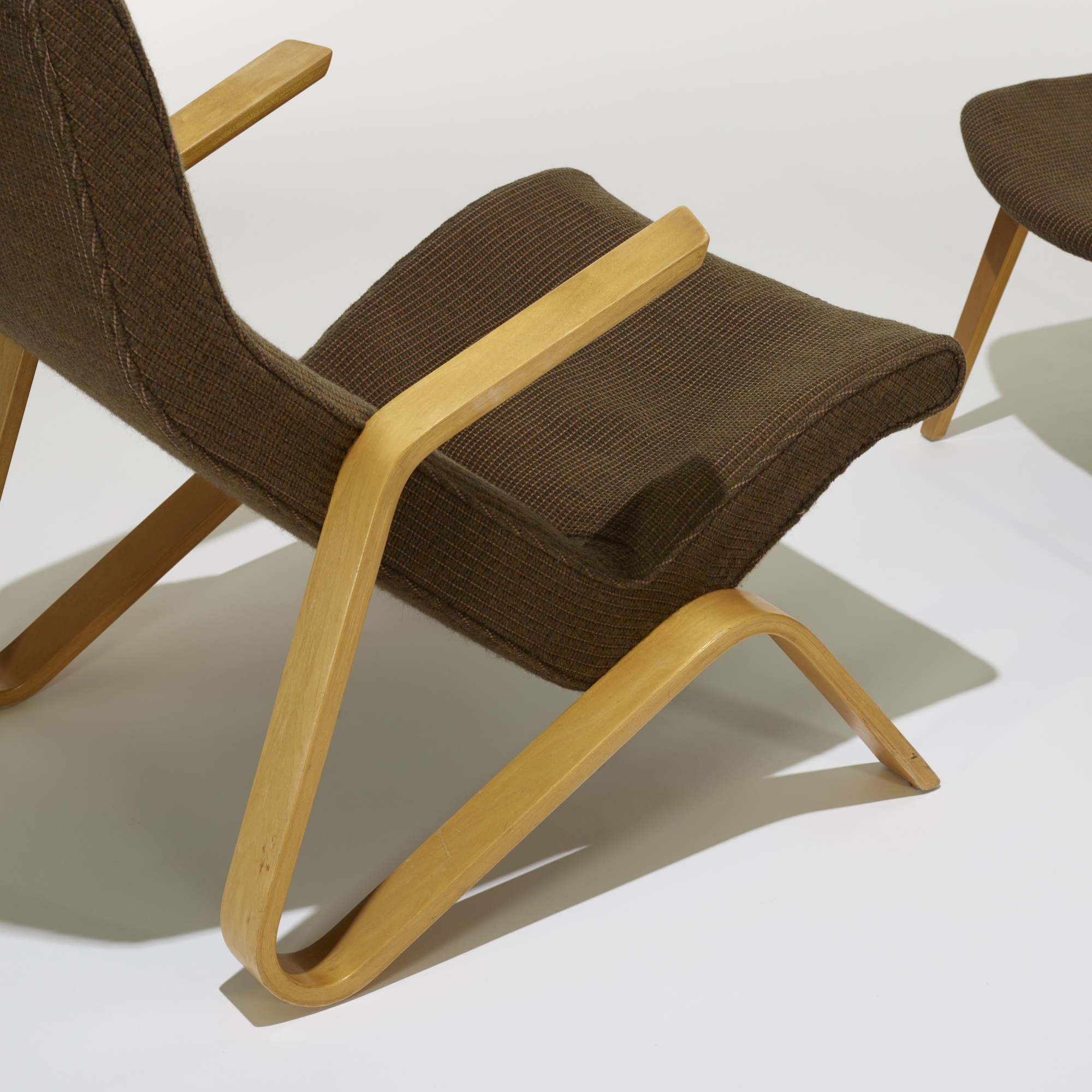 ... 196: Eero Saarinen / Grasshopper Chair And Ottoman (3 Of 3)