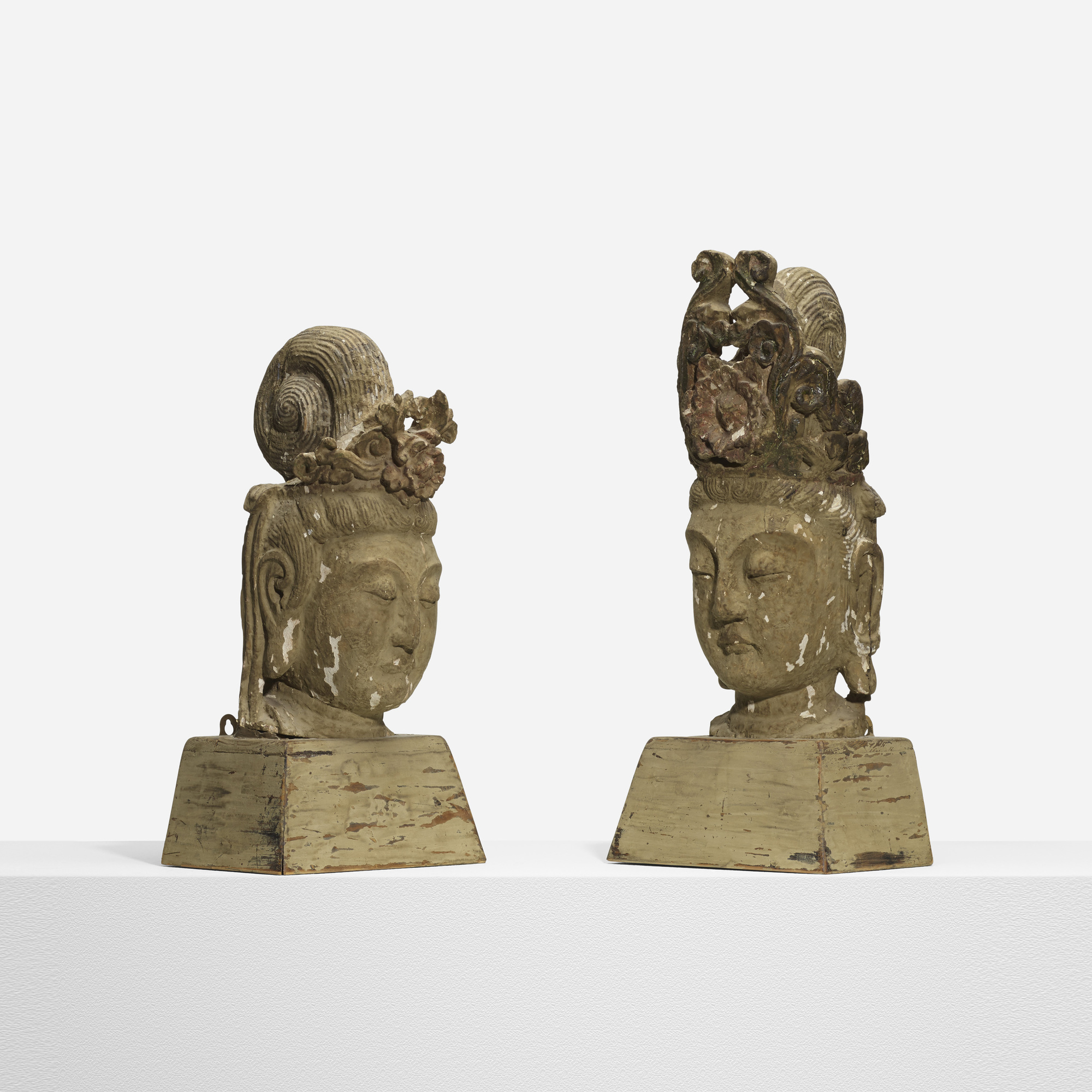 197: Selected by Samuel Marx / pair of Buddhas from the Morton D. May House (1 of 3)
