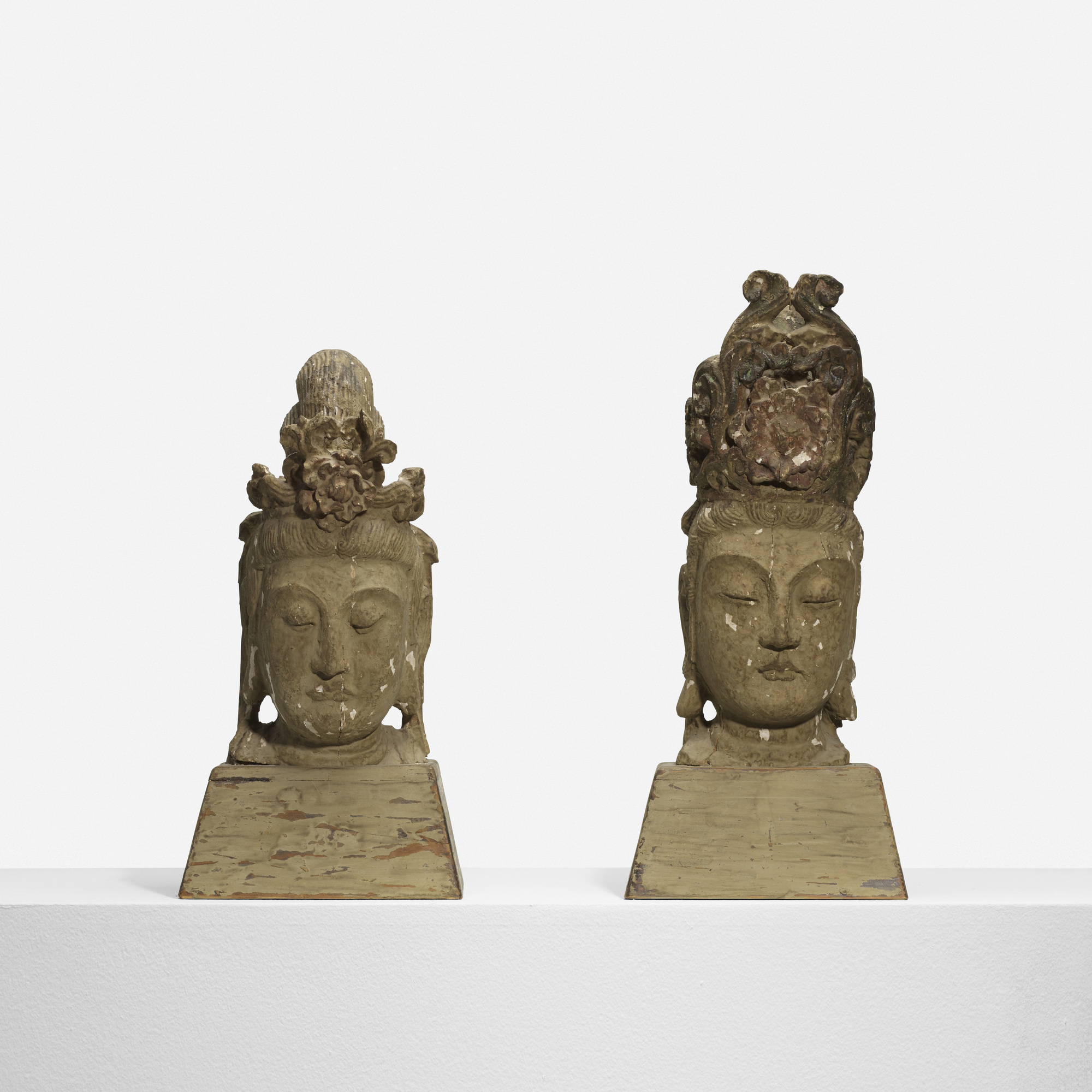 197: Selected by Samuel Marx / pair of Buddhas from the Morton D. May House (2 of 3)