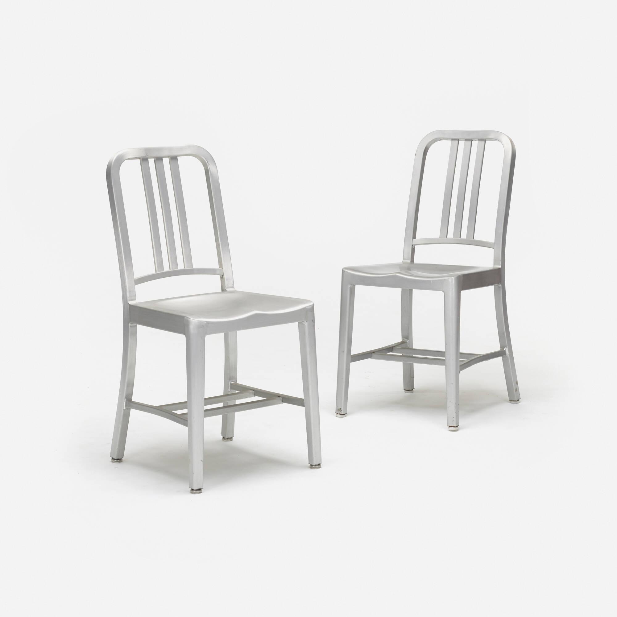 ... 197: Emeco / Navy Chairs, Set Of Ten (2 Of 3)
