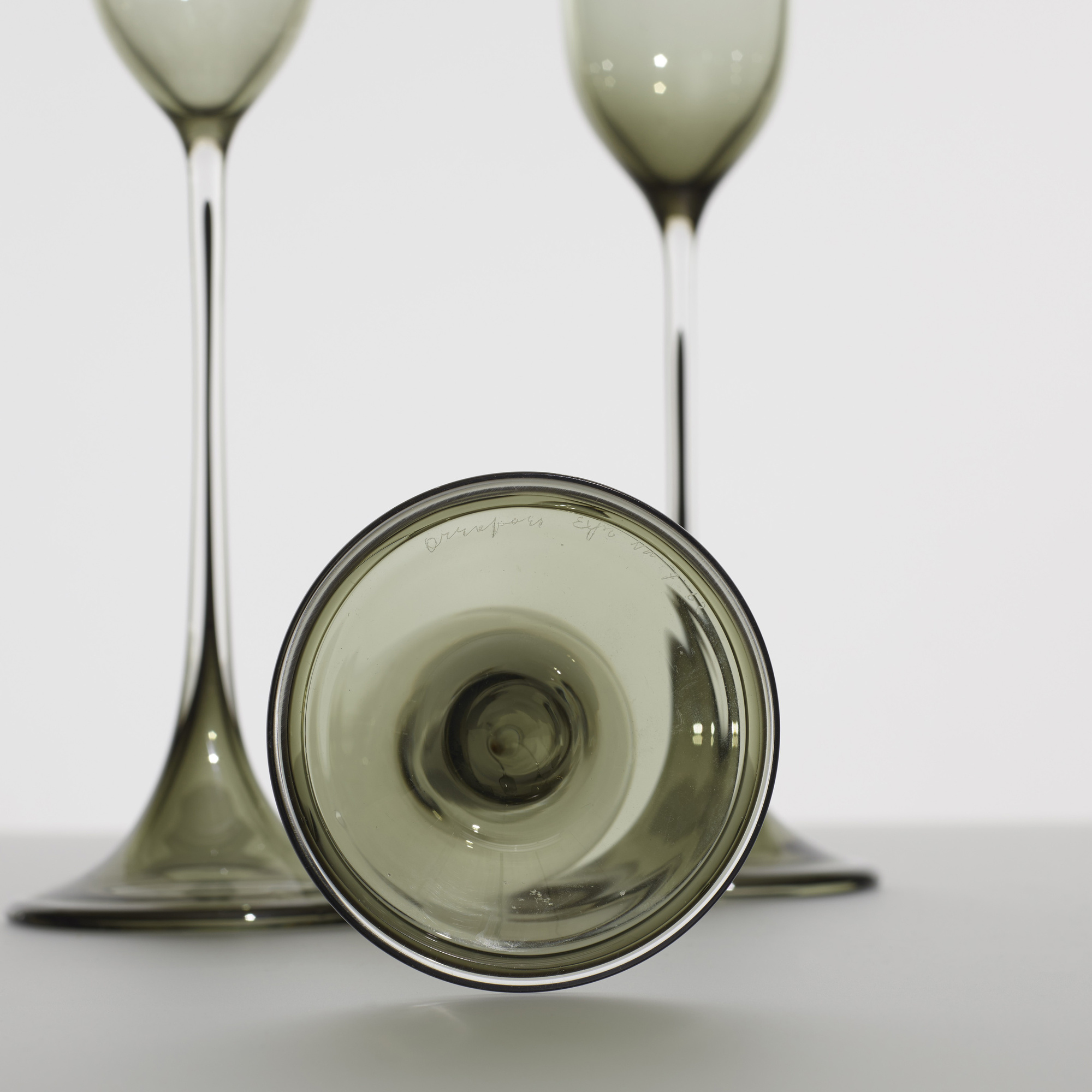 197: Nils Landberg / Tulpa glasses, set of three (2 of 2)