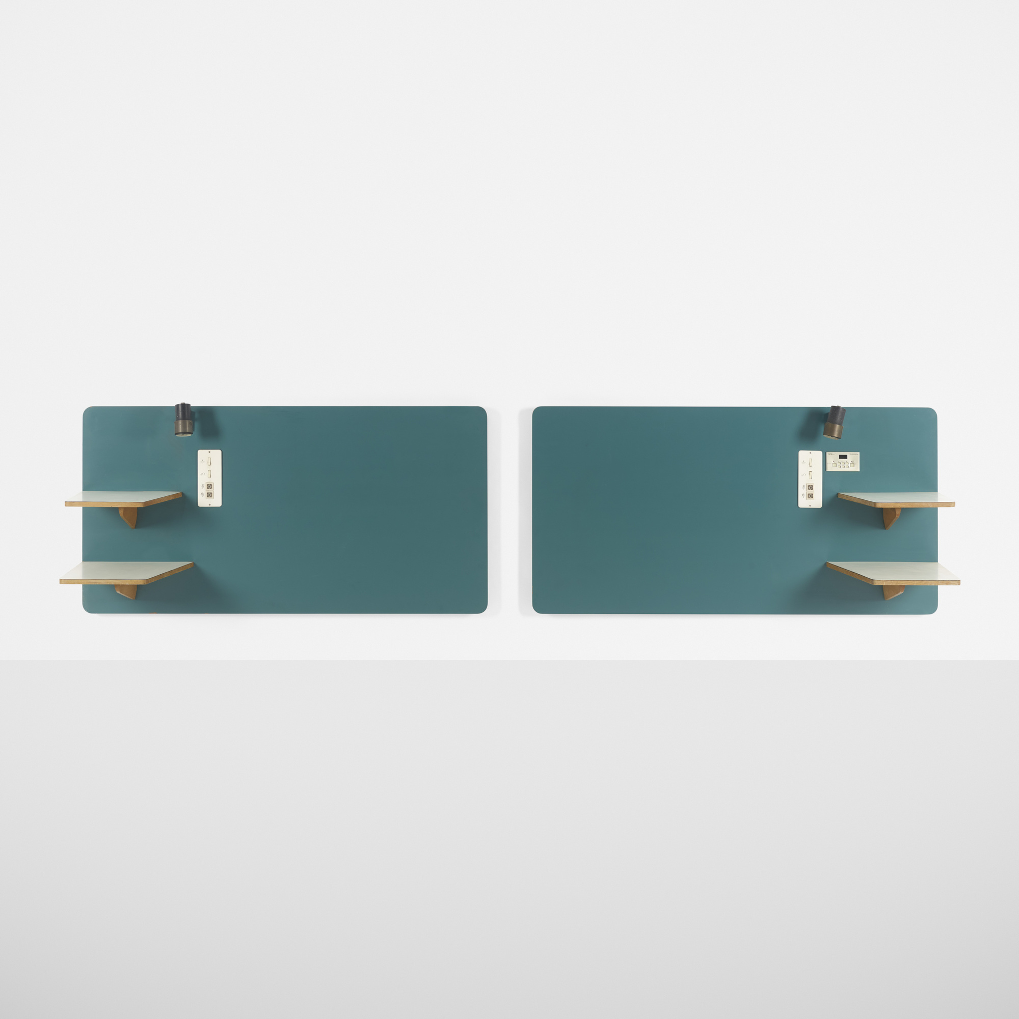 198: Gio Ponti / pair of headboards from the Hotel Parco dei Principi, Rome (1 of 1)