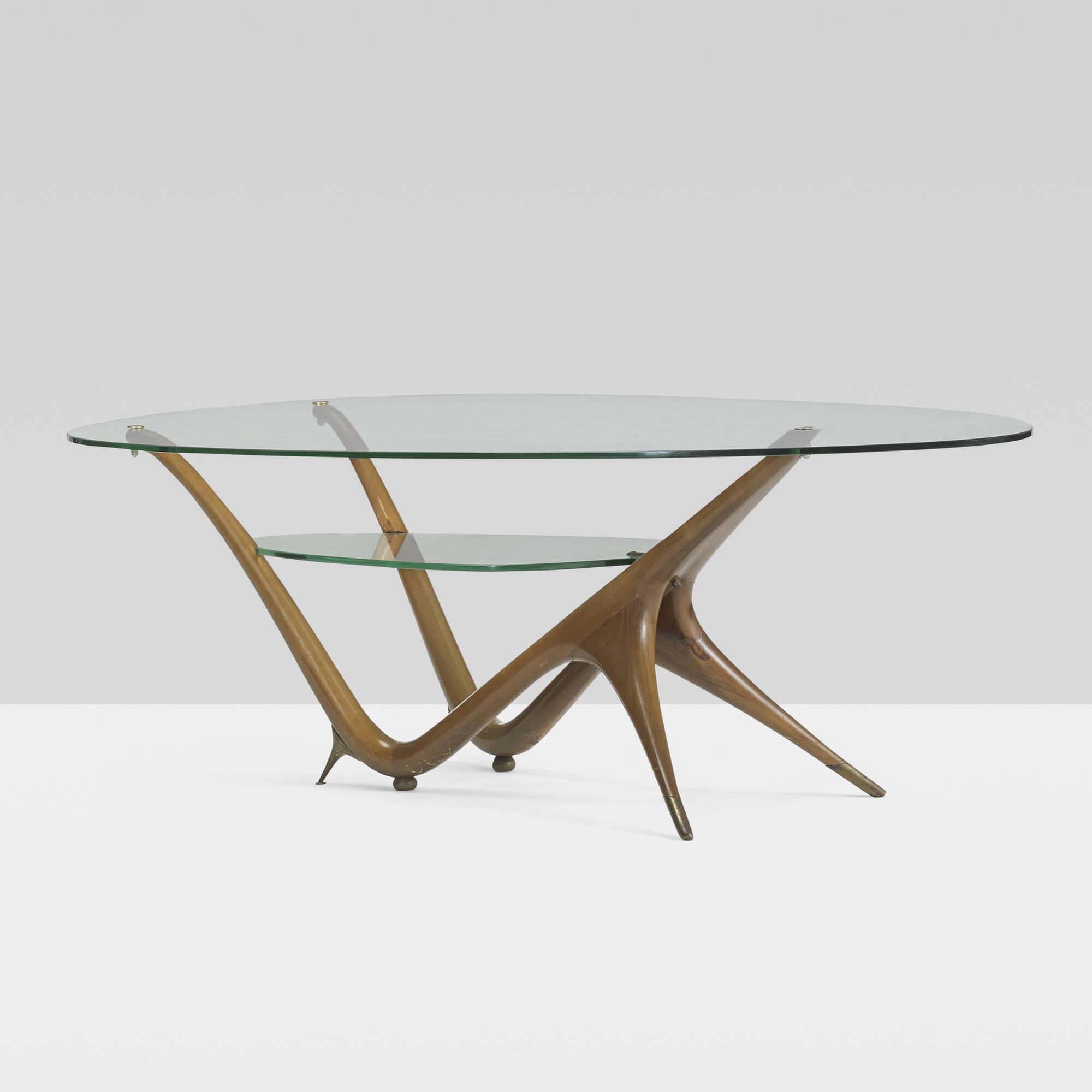 Sensational 198 Carlo Mollino Important Coffee Table Model 1114 Inzonedesignstudio Interior Chair Design Inzonedesignstudiocom