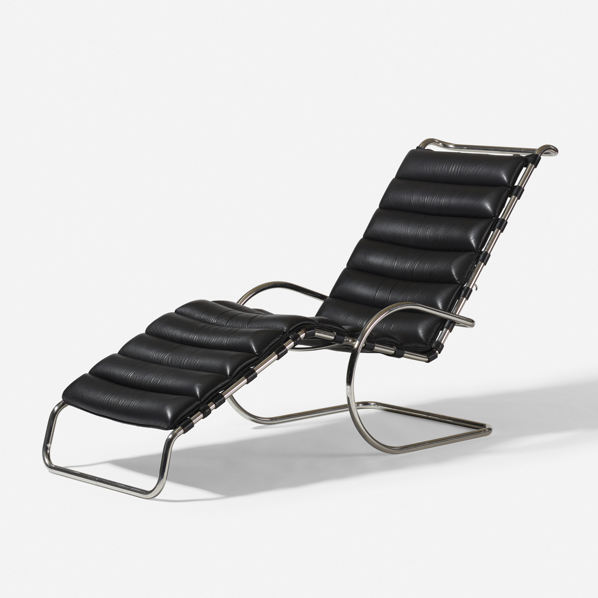 198 Ludwig Mies Van Der Rohe Model 242 Chaise Lounge The Robert