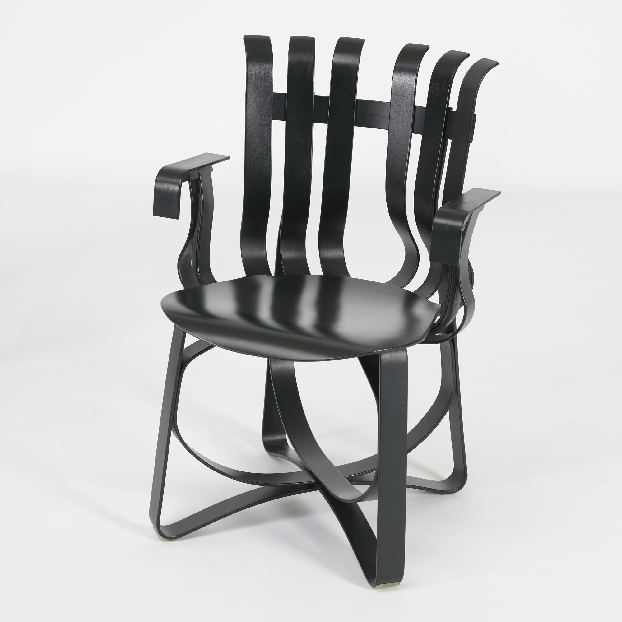 198: FRANK GEHRY, Hat Trick chairs, set of eight < Art +