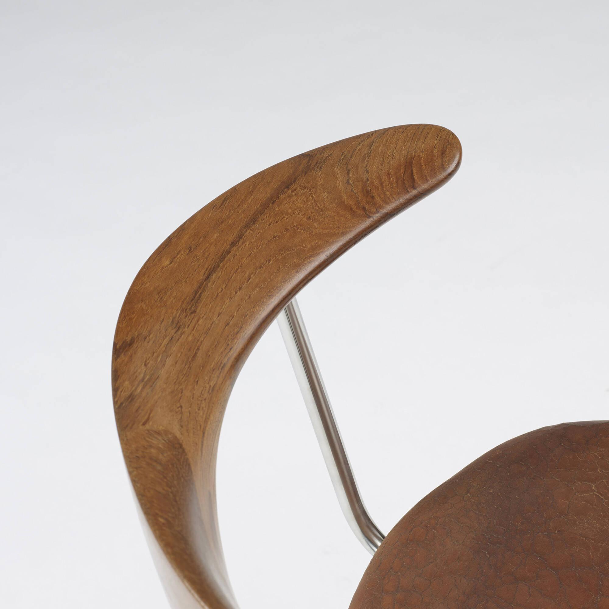 198: Hans J. Wegner / Swivel chair (6 of 9)