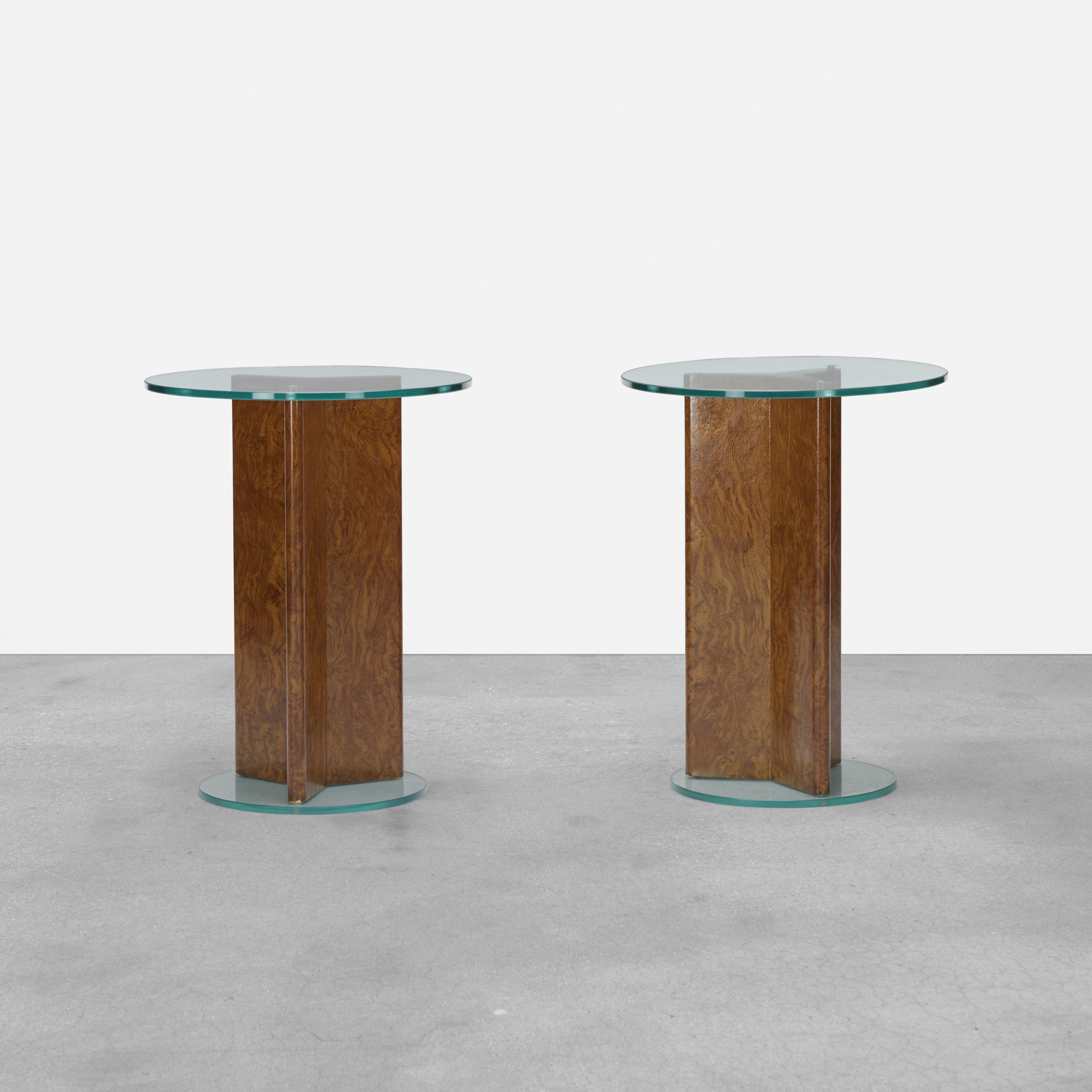 199: Samuel Marx / pair of occasional tables from the Morton D. May House (1 of 3)