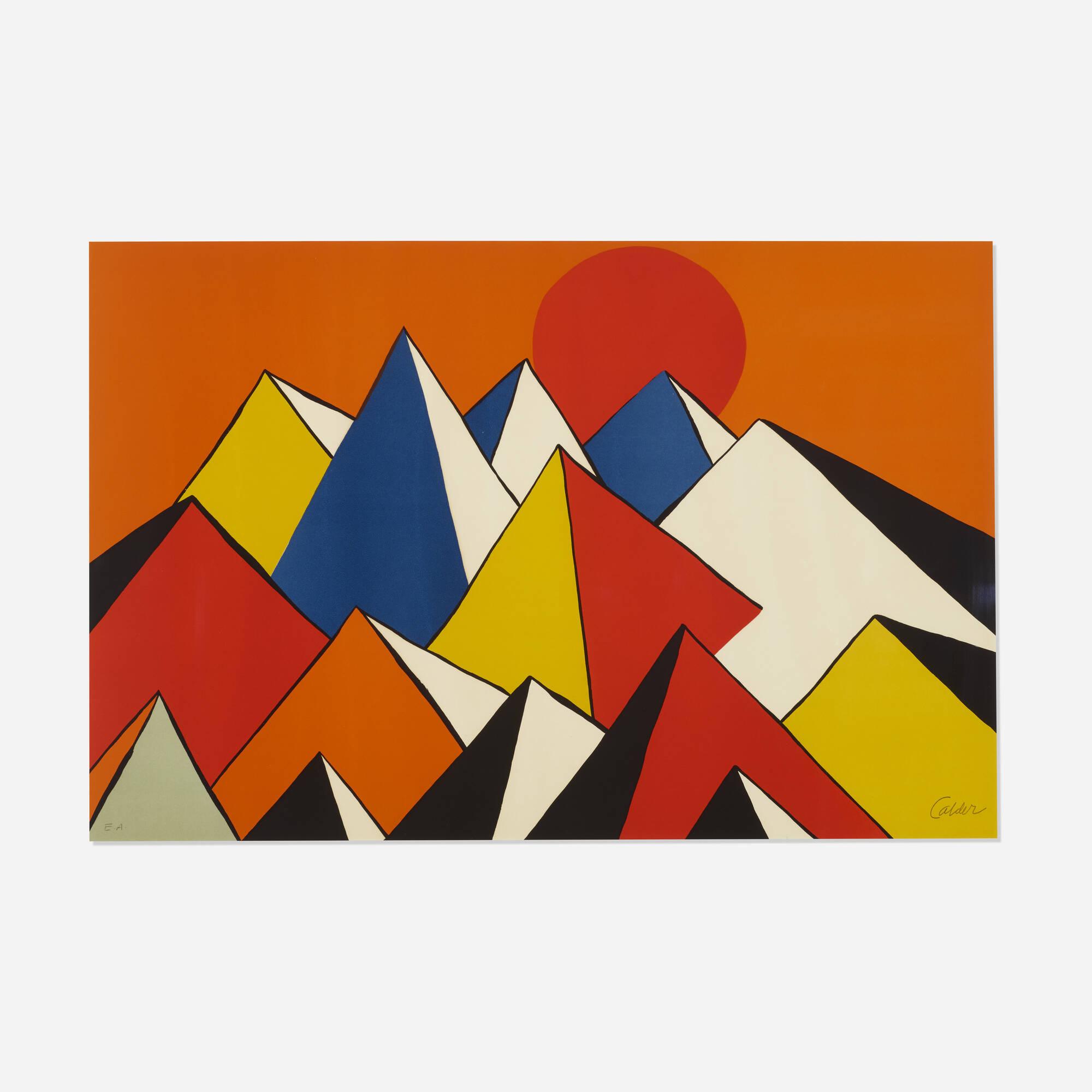 199: After Alexander Calder / Homage to the Sun (1 of 1)