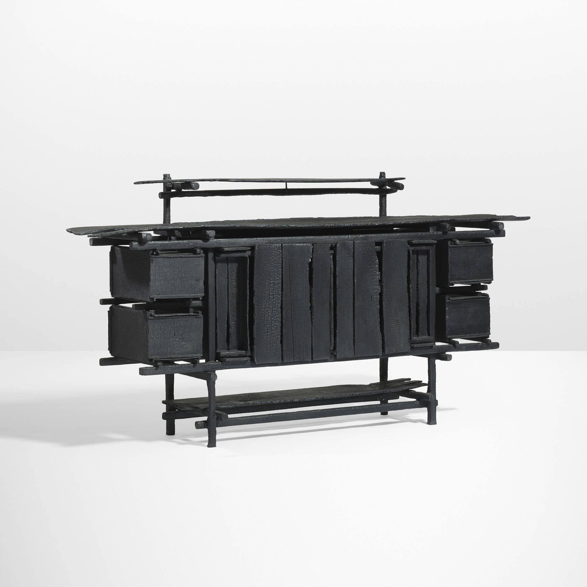 Gerrit rietveld furniture -  19 Maarten Baas Gerrit Rietveld Elling Cabinet From The Smoke Series 2 Of
