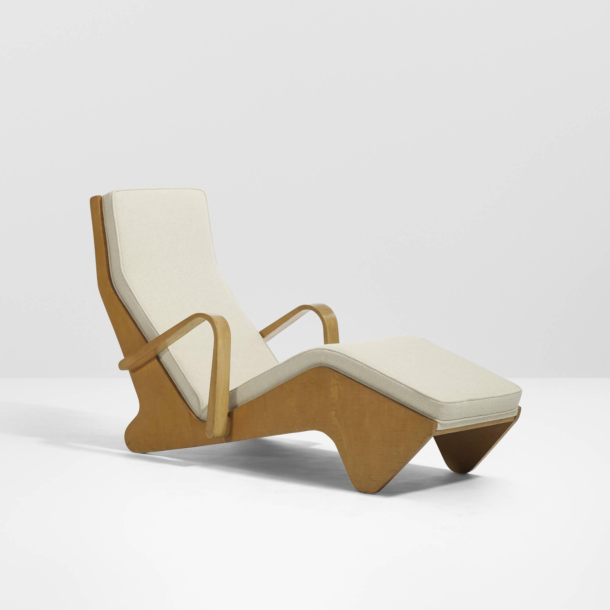 19 marcel breuer rare chaise lounge for Breuer chaise longue